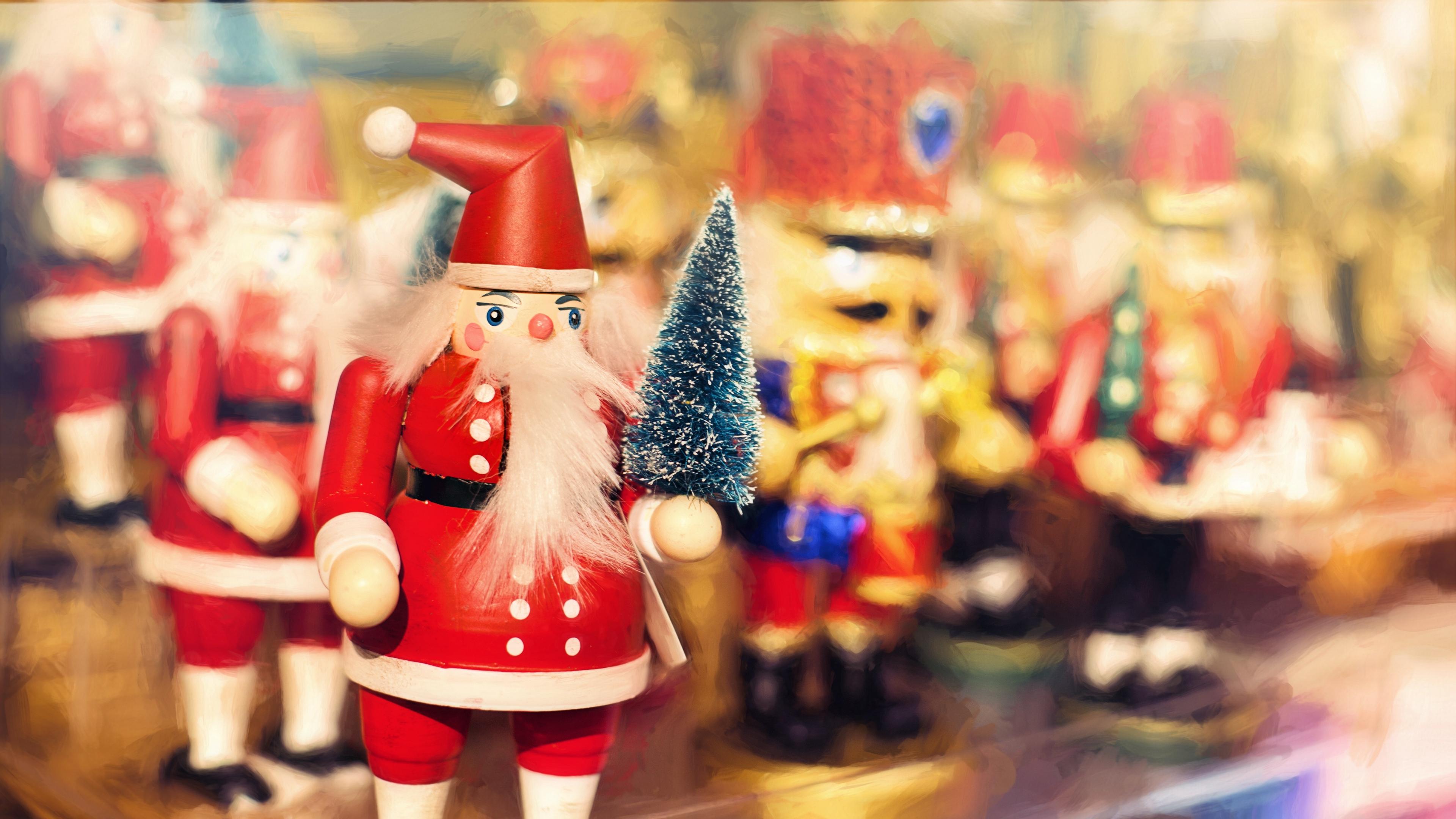 christmas santa claus new year 4k 1538345186 - christmas, santa claus, new year 4k - santa claus, new year, Christmas