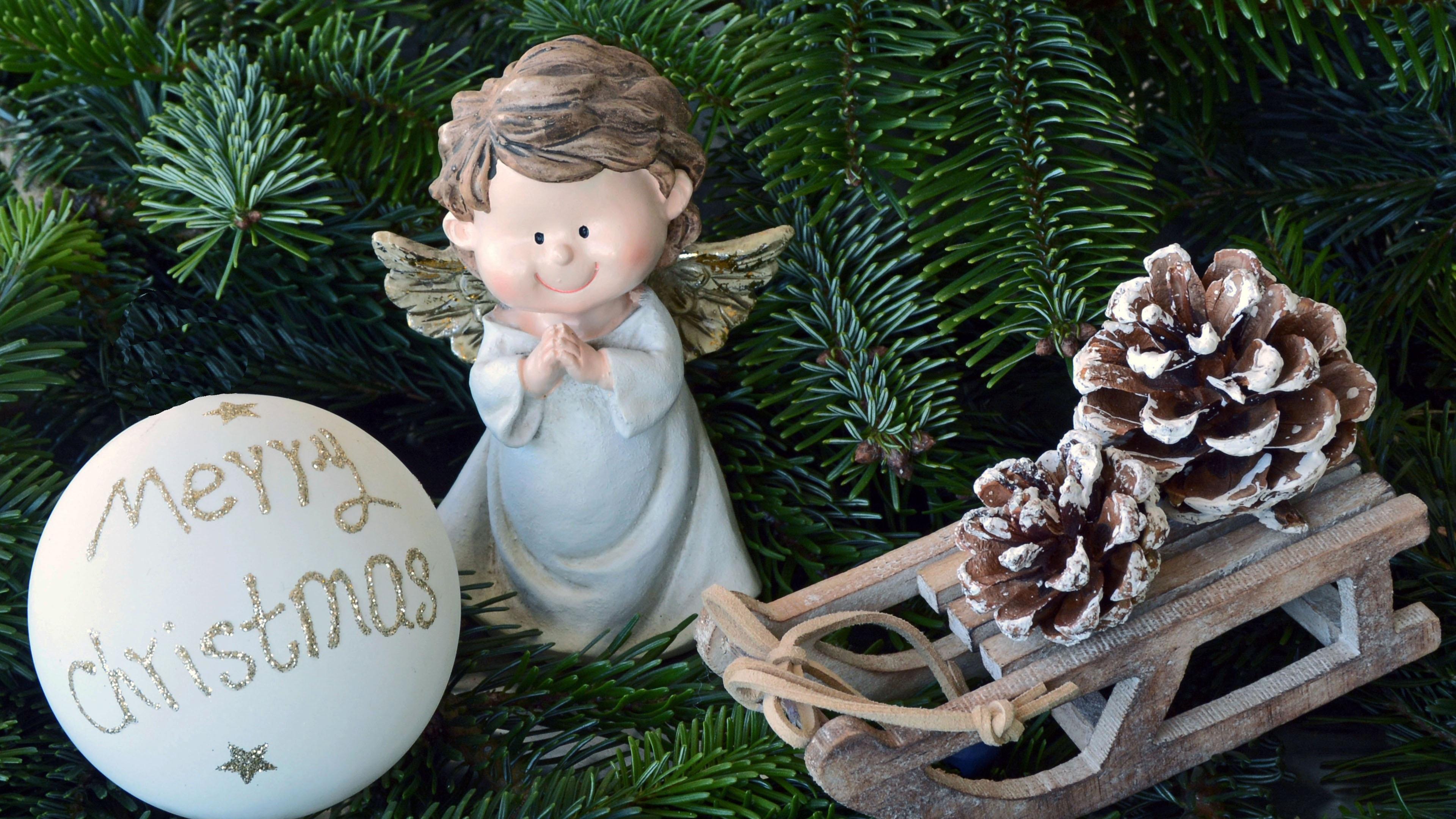 christmas toys angel christmas fir ball 4k 1538344848 - christmas toys, angel, christmas, fir, ball 4k - christmas toys, Christmas, Angel