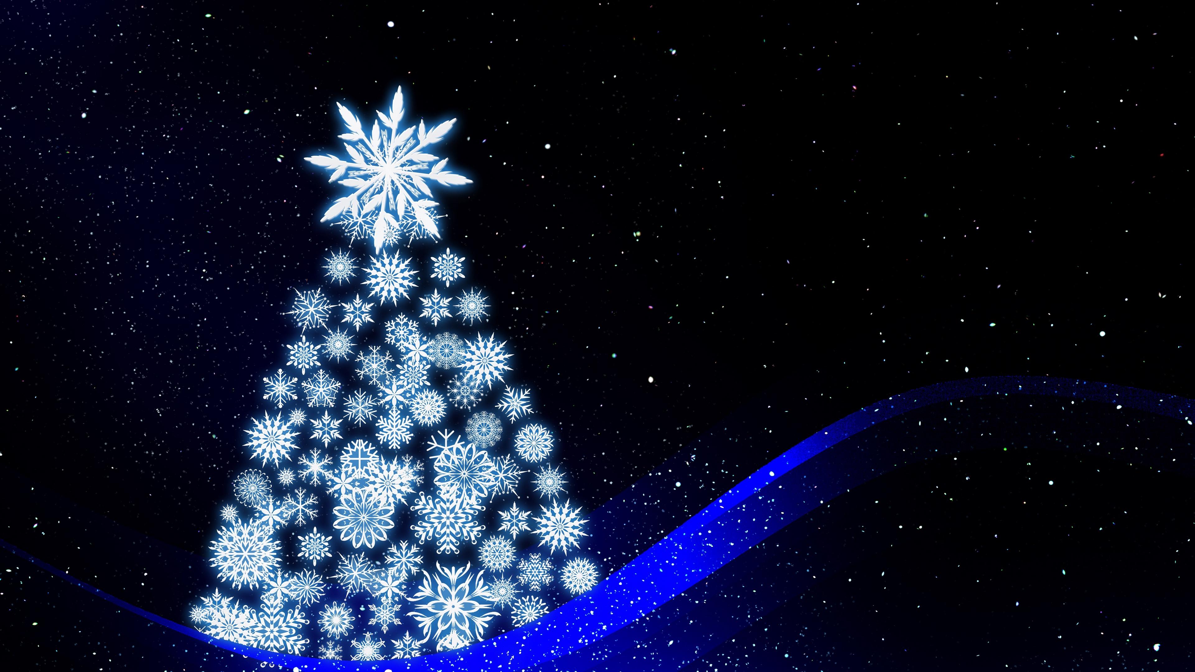 christmas tree art new year 4k 1538344726 - christmas tree, art, new year 4k - new year, christmas tree, art