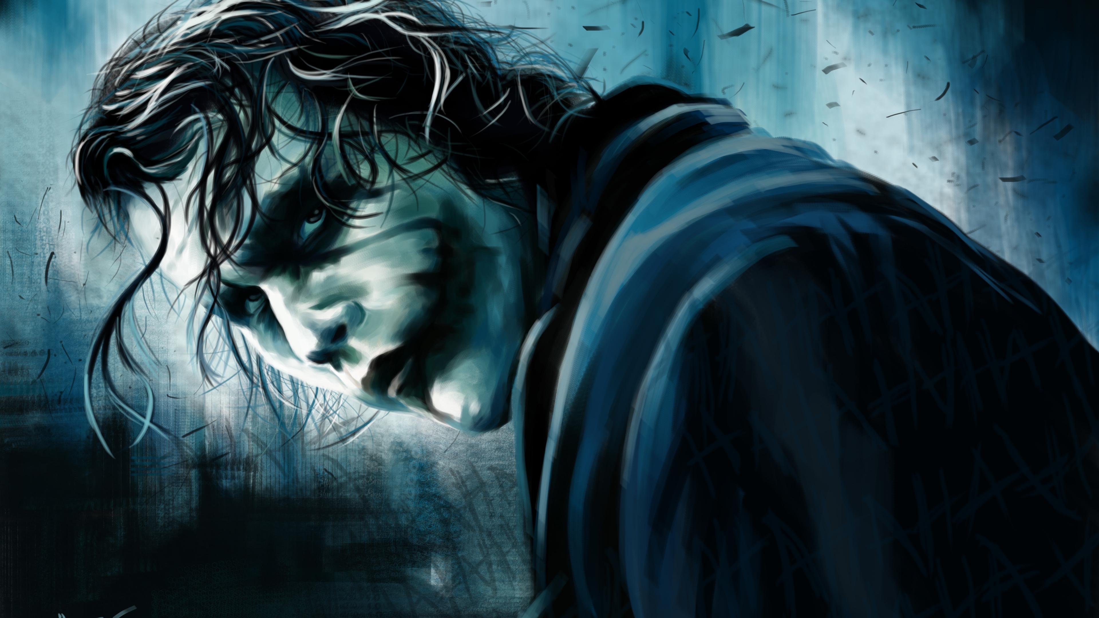 Christopher Nolan Joker Art supervillain wallpapers ...