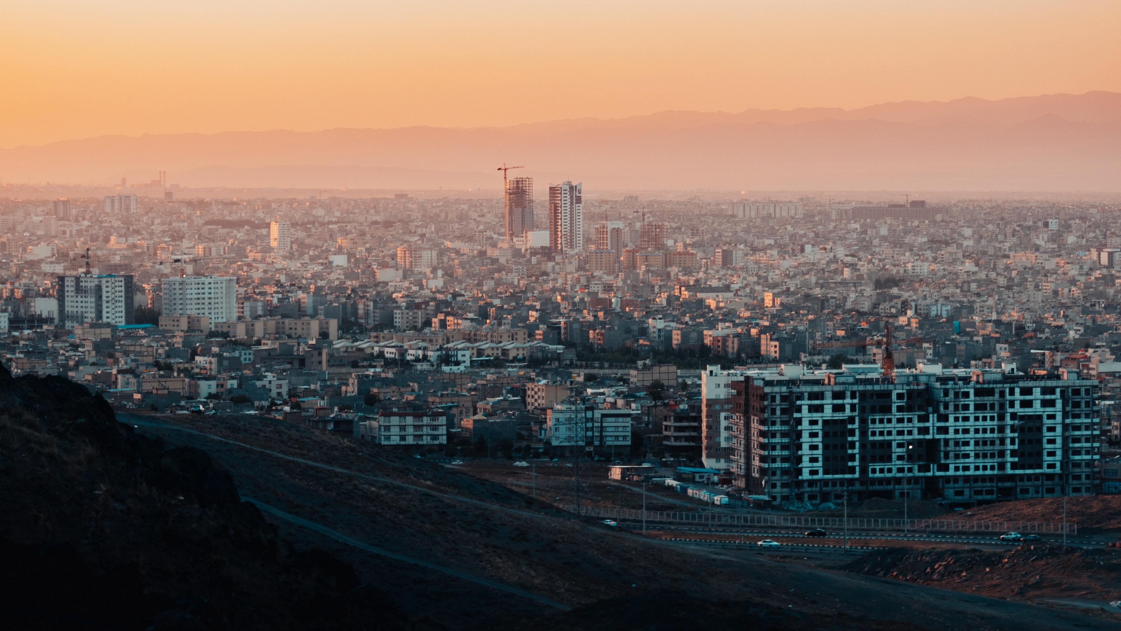 city buildings sunset mashhad iran 4k 1538066694 - city, buildings, sunset, mashhad, iran 4k - sunset, City, buildings