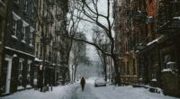 city house winter snow street 4k 1538067630 200x110 - city, house, winter, snow, street 4k - Winter, House, City