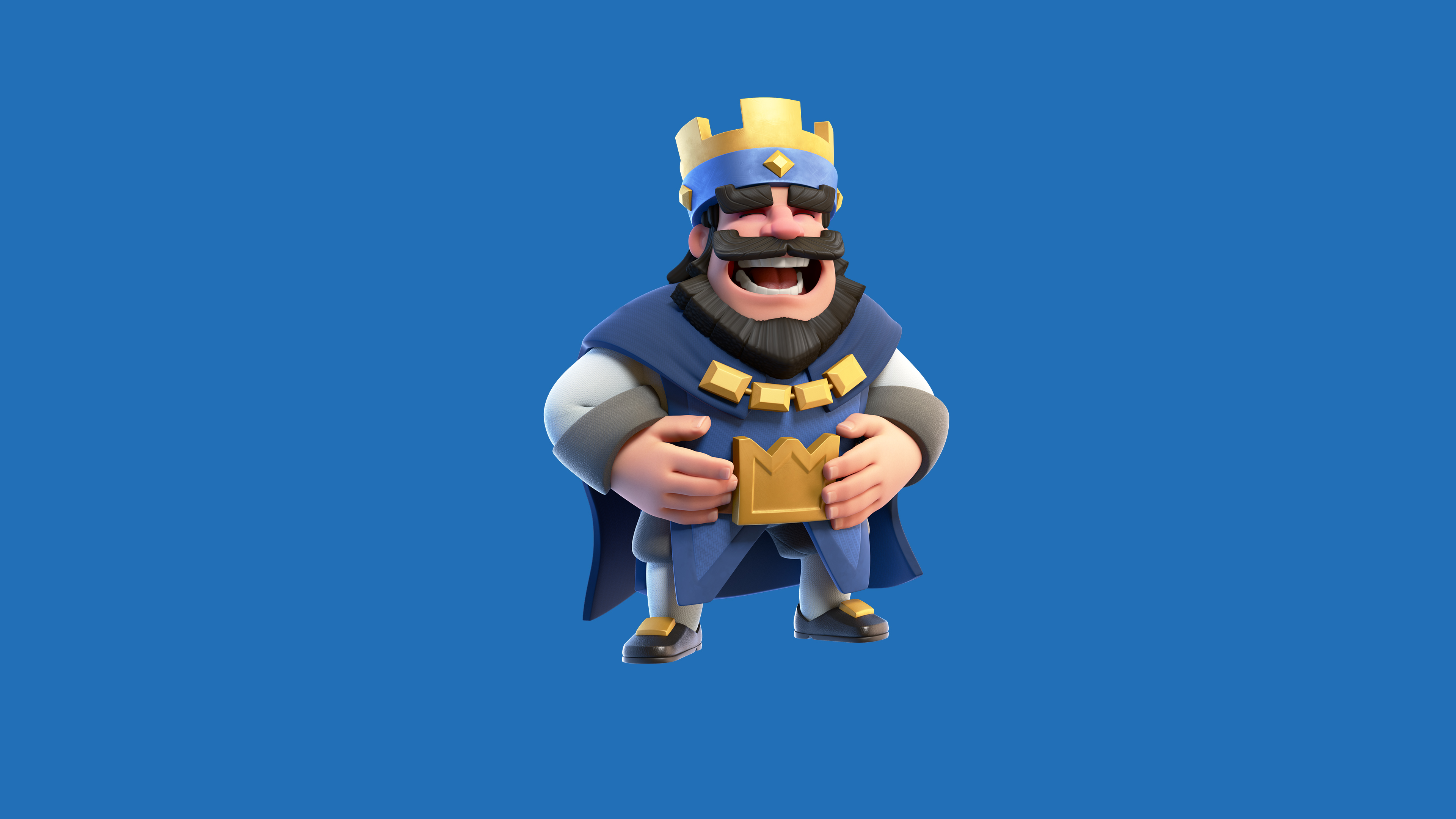 clash royale blue king 1536009009 - Clash Royale Blue King - supercell wallpapers, games wallpapers, clash royale wallpapers, 2016 games wallpapers