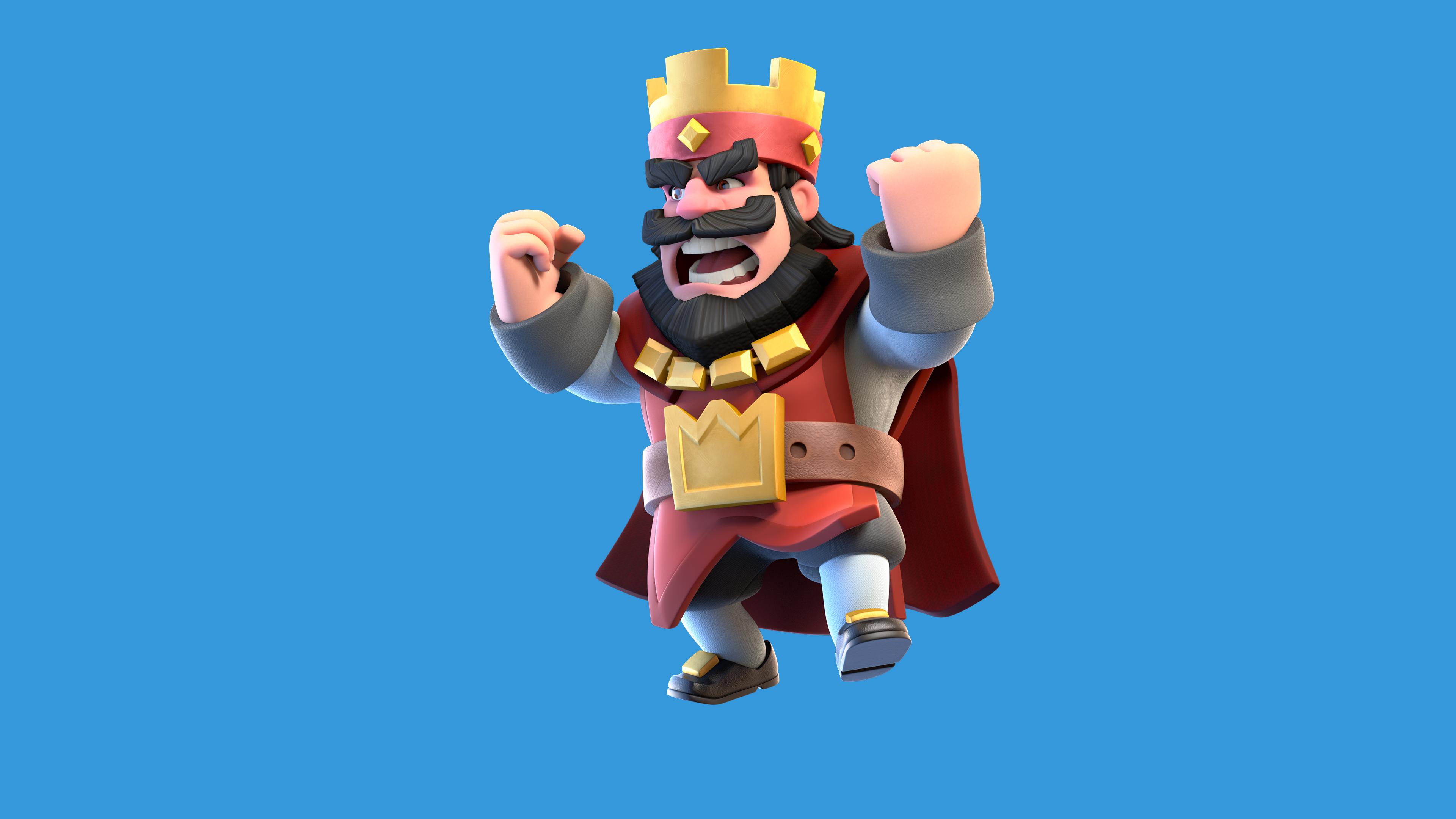 clash royale red king 1536009006 - Clash Royale Red King - supercell wallpapers, games wallpapers, clash royale wallpapers, 2016 games wallpapers
