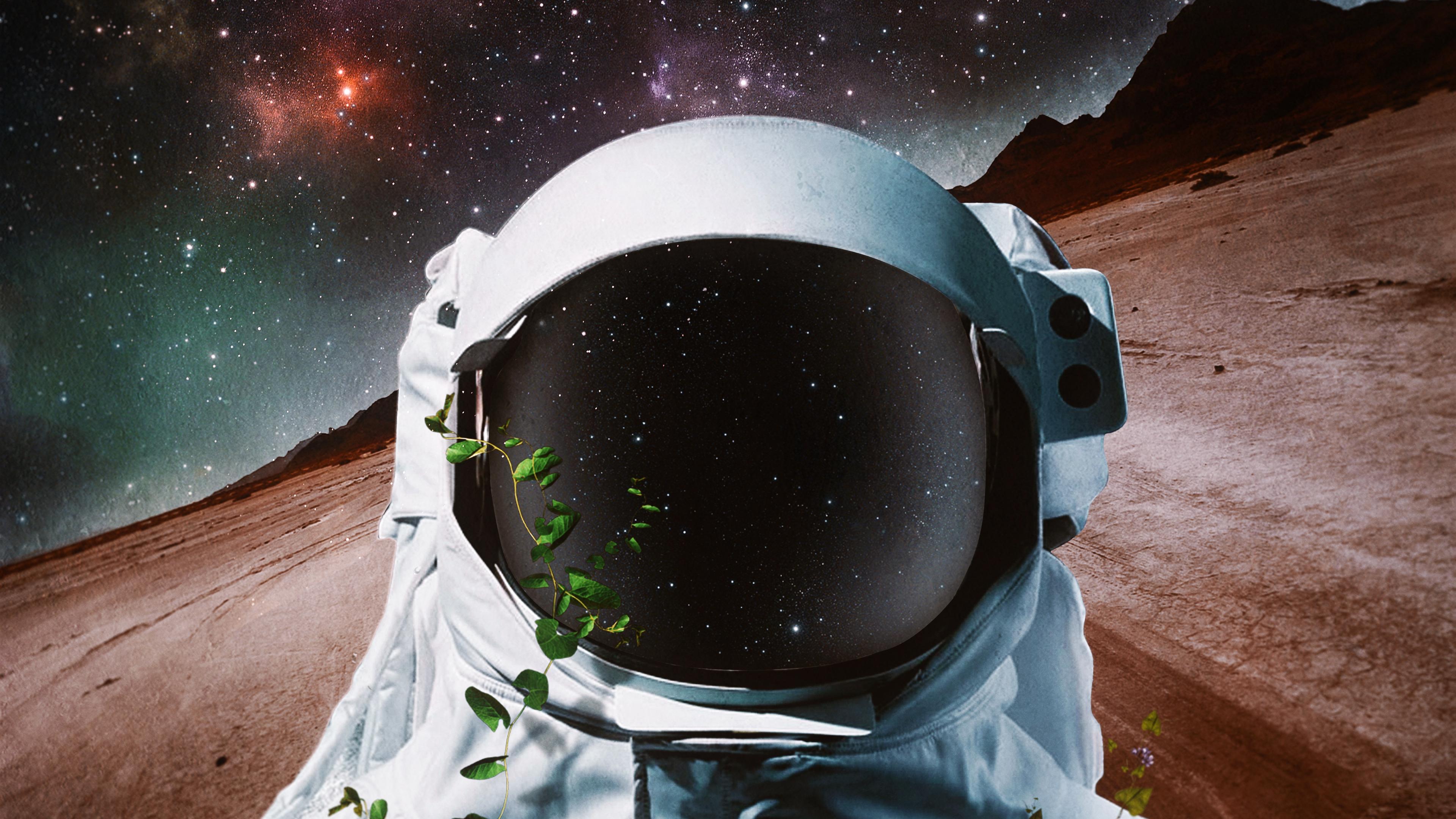 cosmonaut space suit art space 4k 1536013865 - cosmonaut, space suit, art, space 4k - space suit, cosmonaut, art