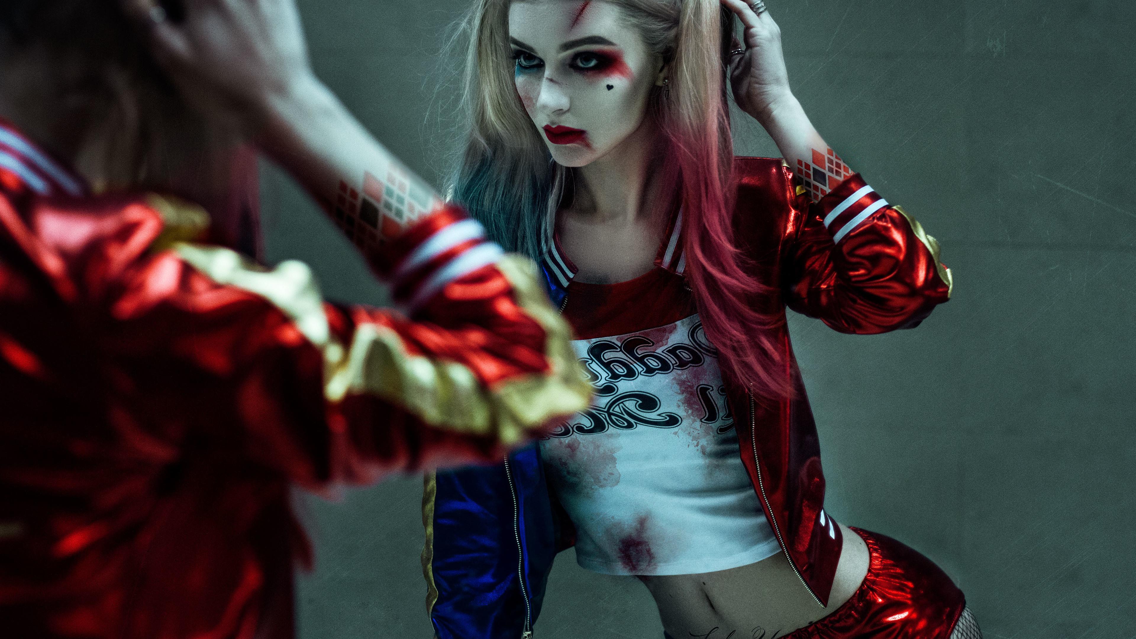 cosplay harley quinn 1536401958 - Cosplay Harley Quinn - suicide squad wallpapers, hd-wallpapers, harley quinn wallpapers, cosplay wallpapers, 5k wallpapers, 4k-wallpapers