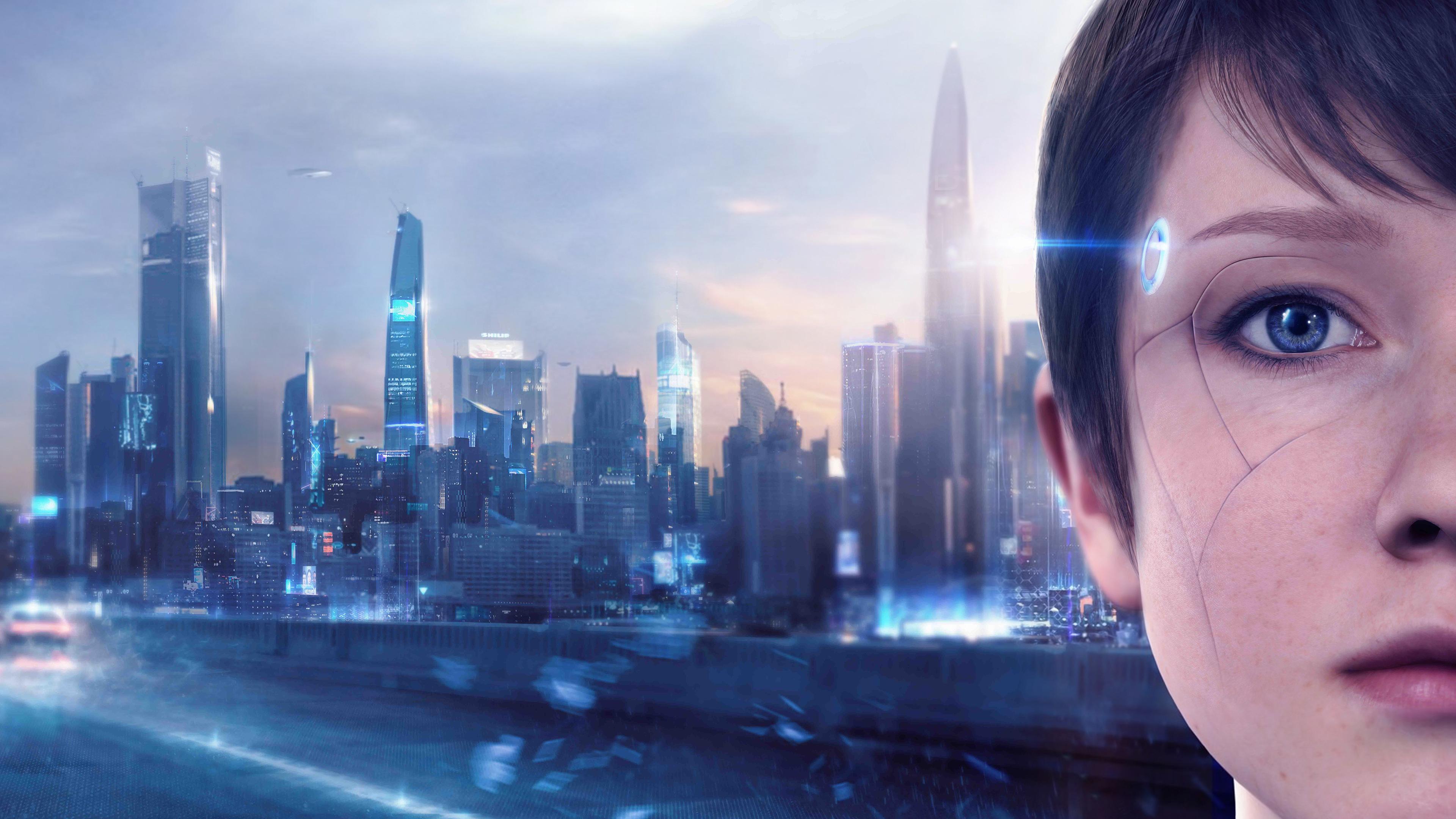 Wallpaper 4k Detroit Become Human 5k 2018 Games Wallpapers 4k