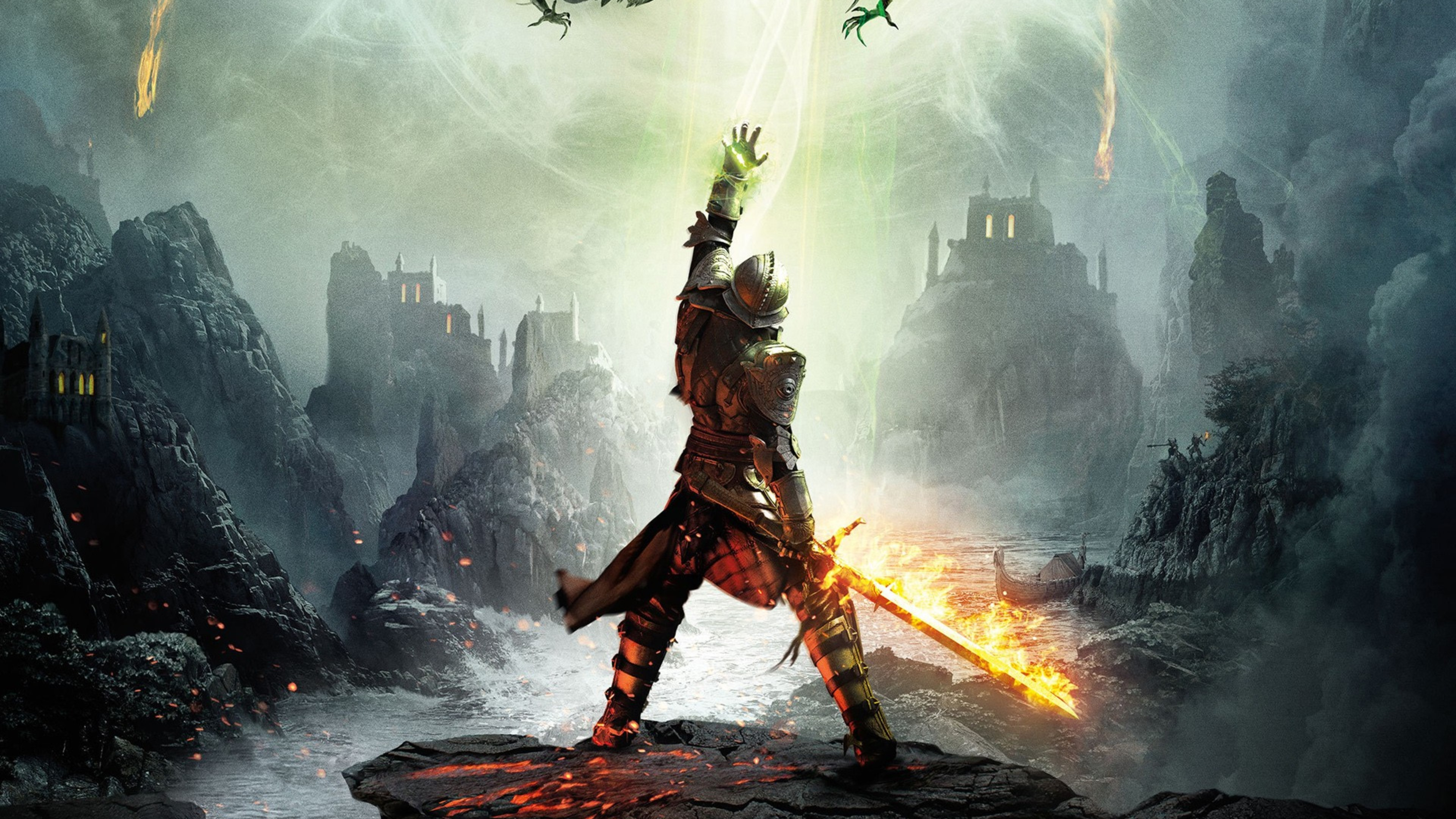 Wallpaper 4k Dragon Age Inquisition Dragon Age Inquisition