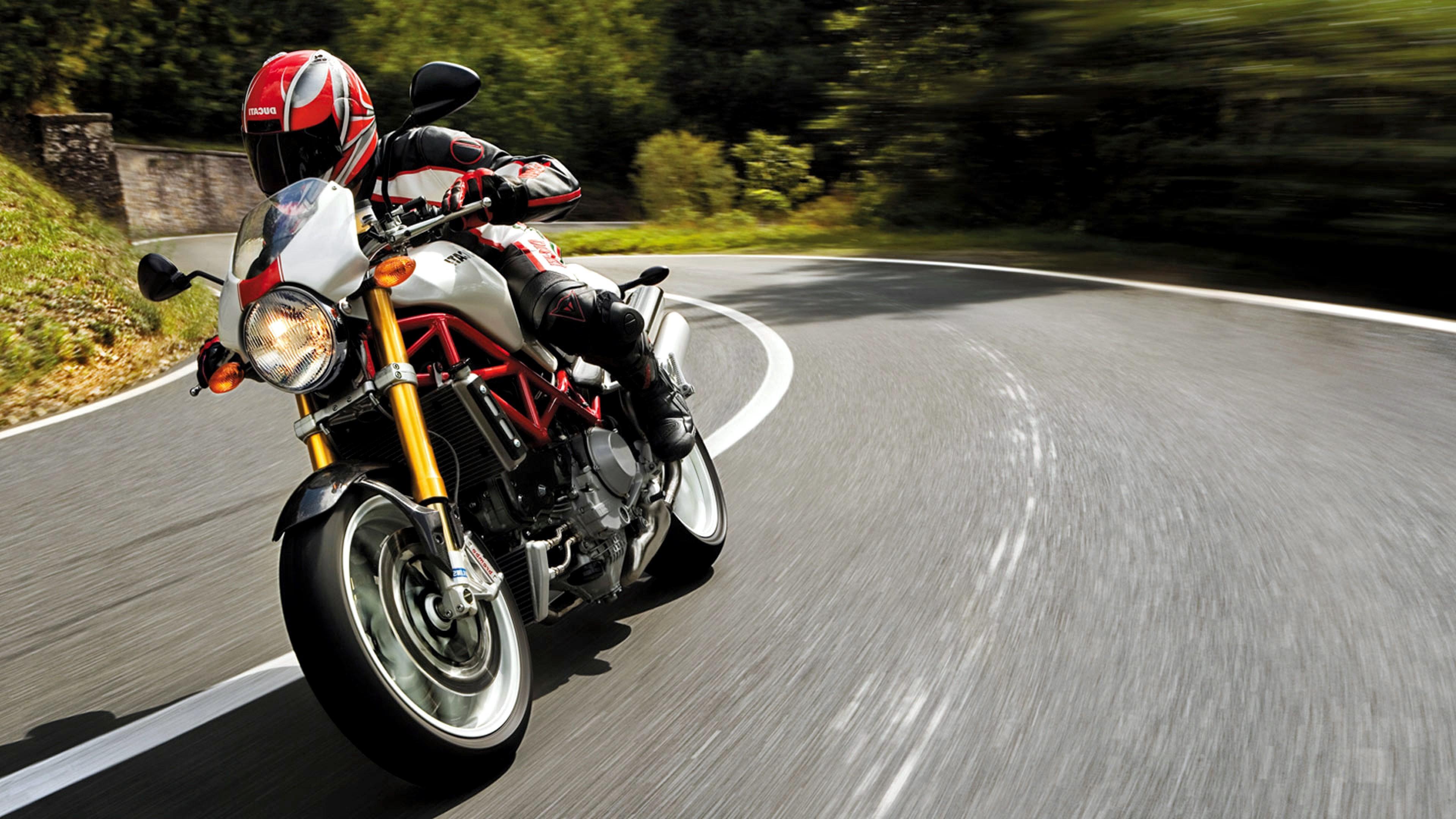 Ducati Monster S4R 4k Red Wallpapers, Ducati Wallpapers