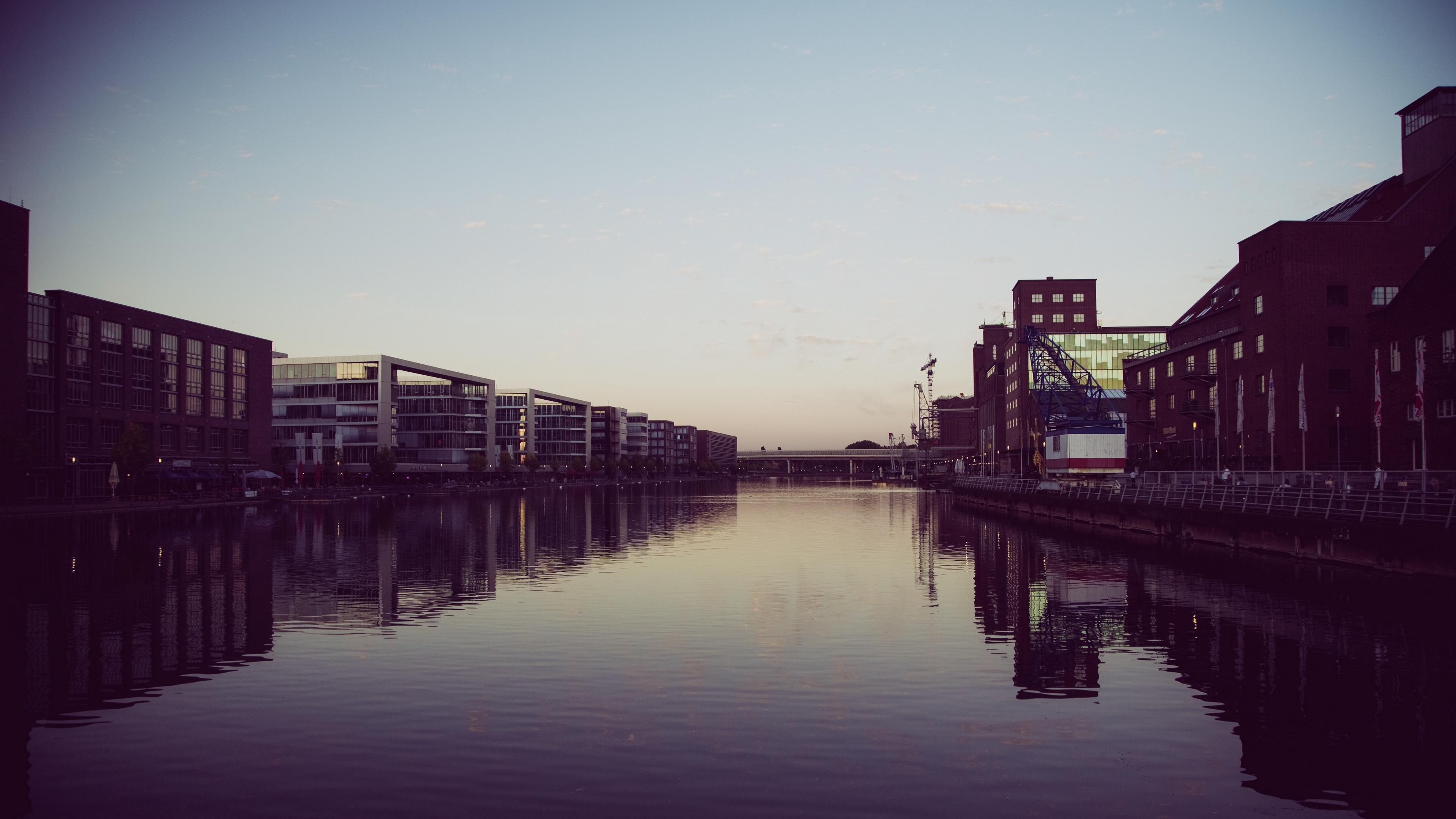 duisburg germany river building 4k 1538065250 - duisburg, germany, river, building 4k - River, Germany, duisburg