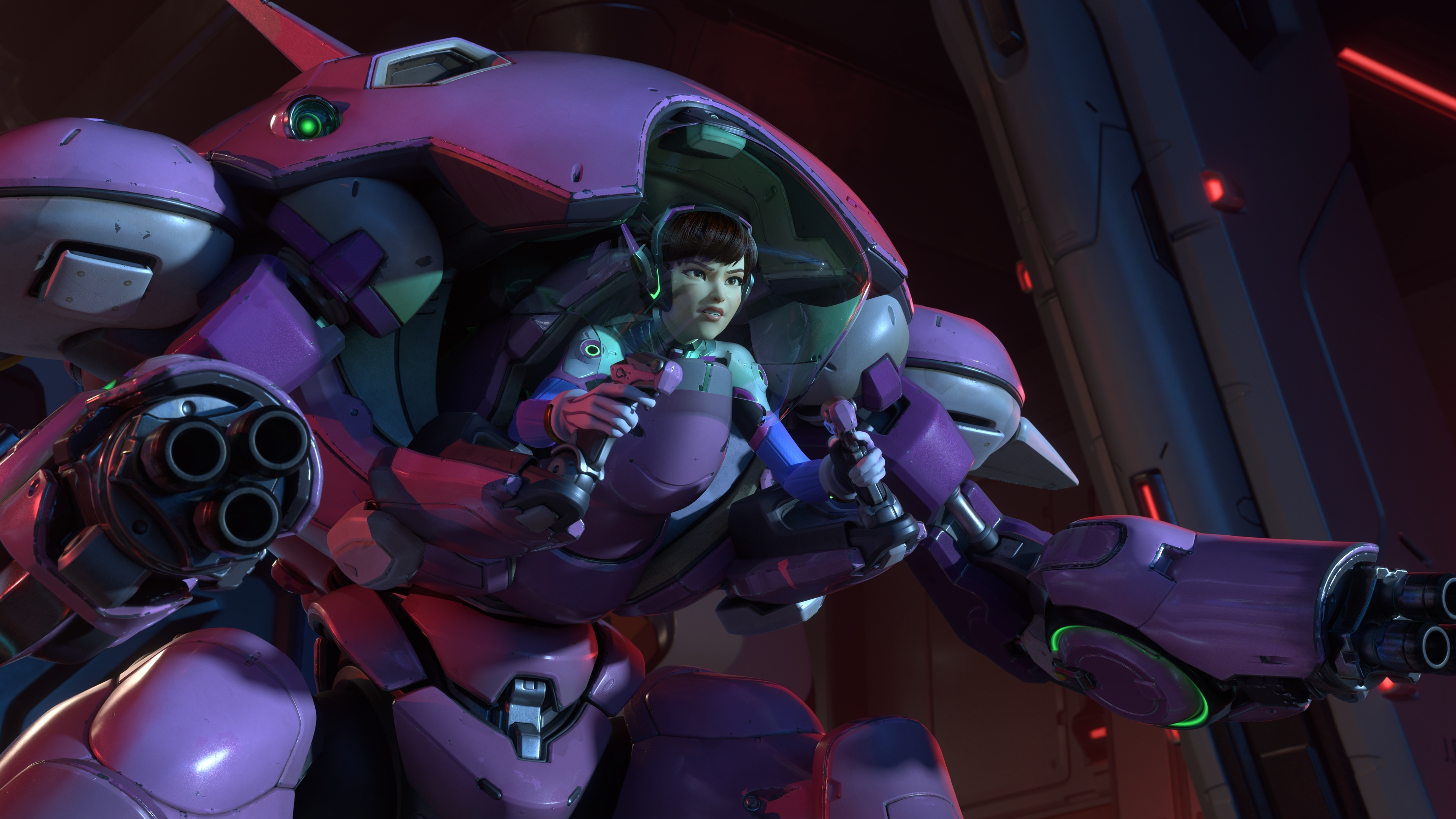 Wallpaper 4k Dva Overwatch Video Game 5k 4k Wallpapers 5k