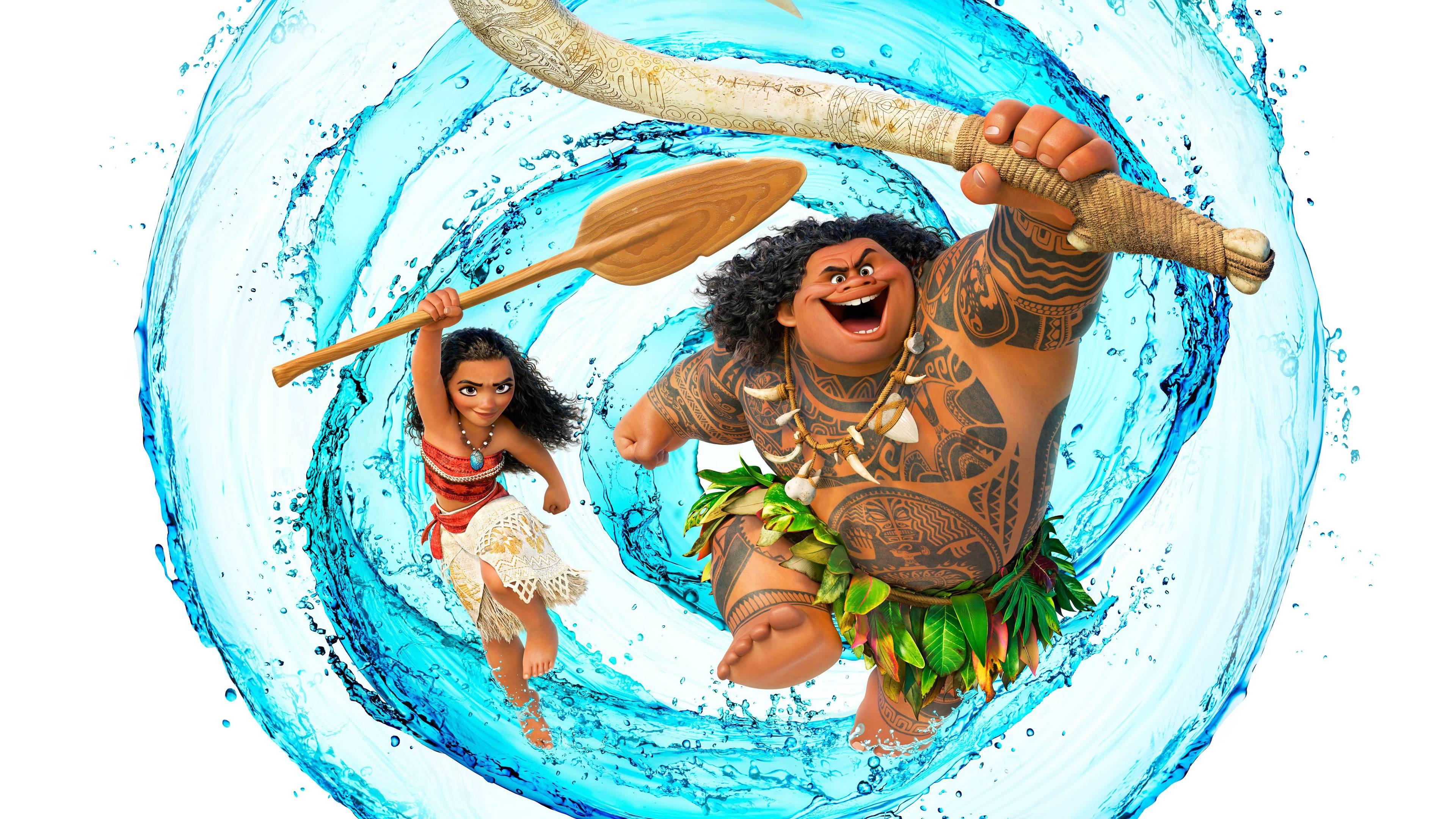 Dwayne Johnson As Maui Moana