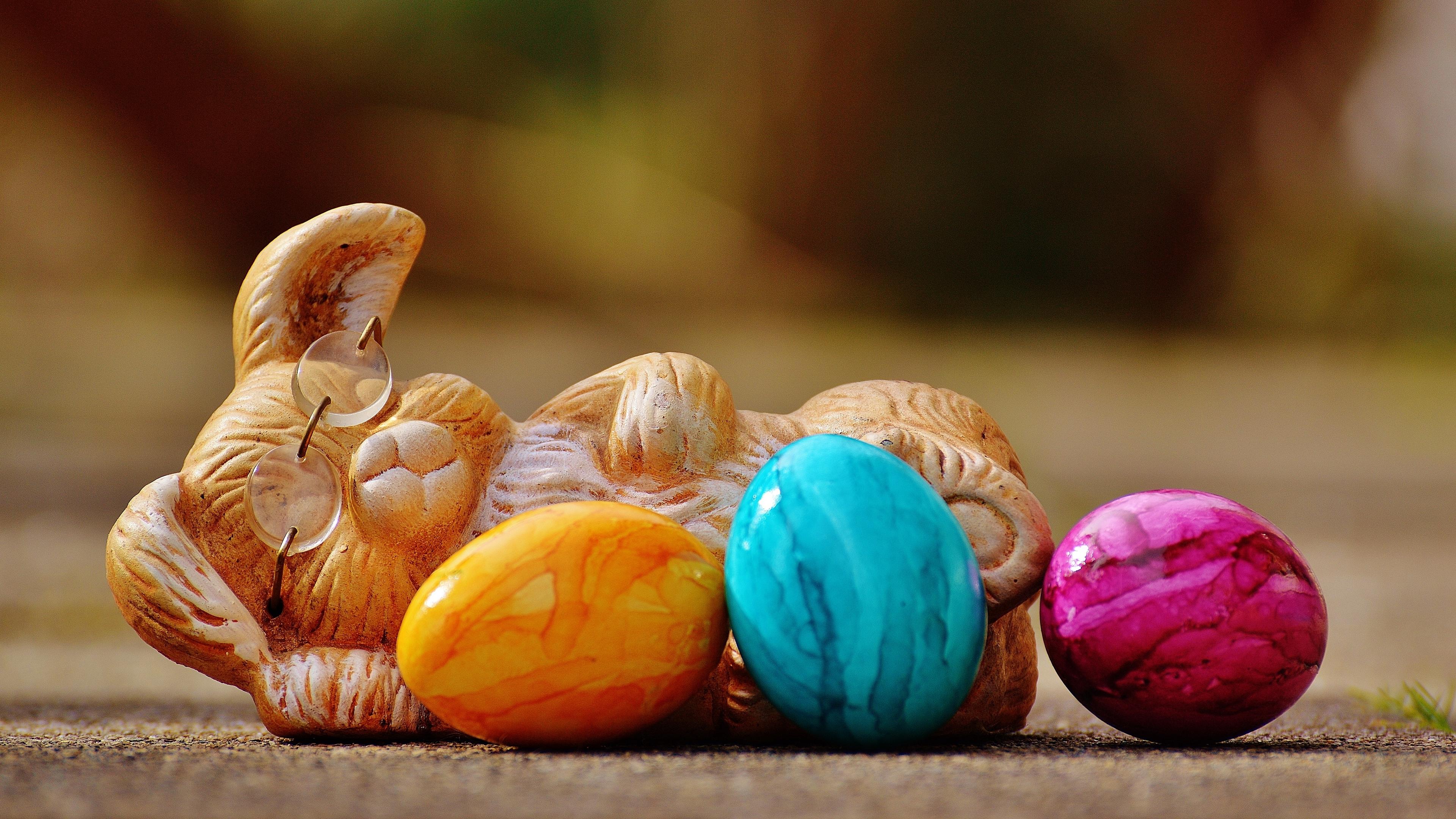 easter easter bunny eggs 4k 1538345163 - easter, easter bunny, eggs 4k - Eggs, easter bunny, Easter