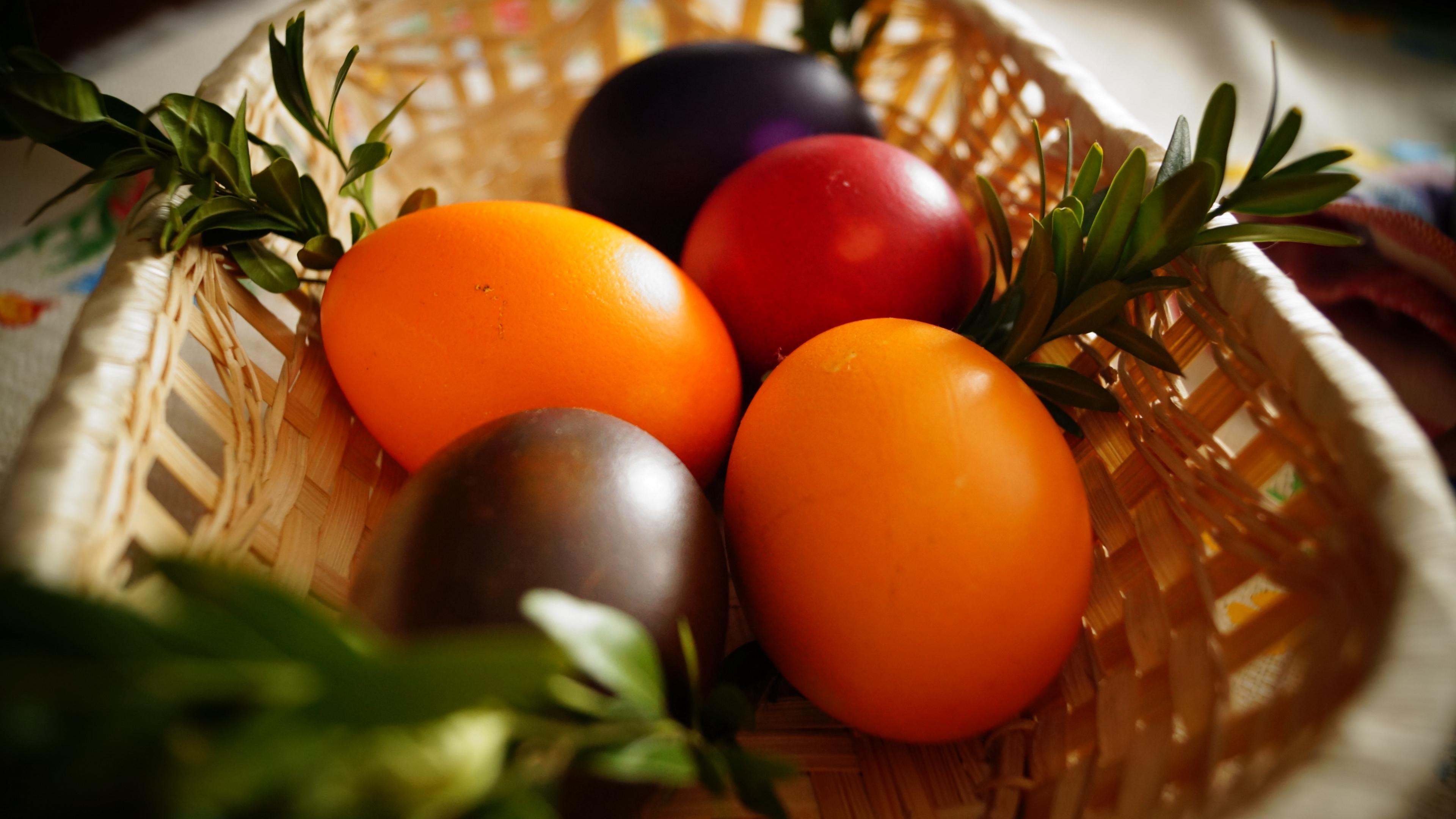 easter easter eggs basket 4k 1538344916 - easter, easter eggs, basket 4k - easter eggs, Easter, Basket