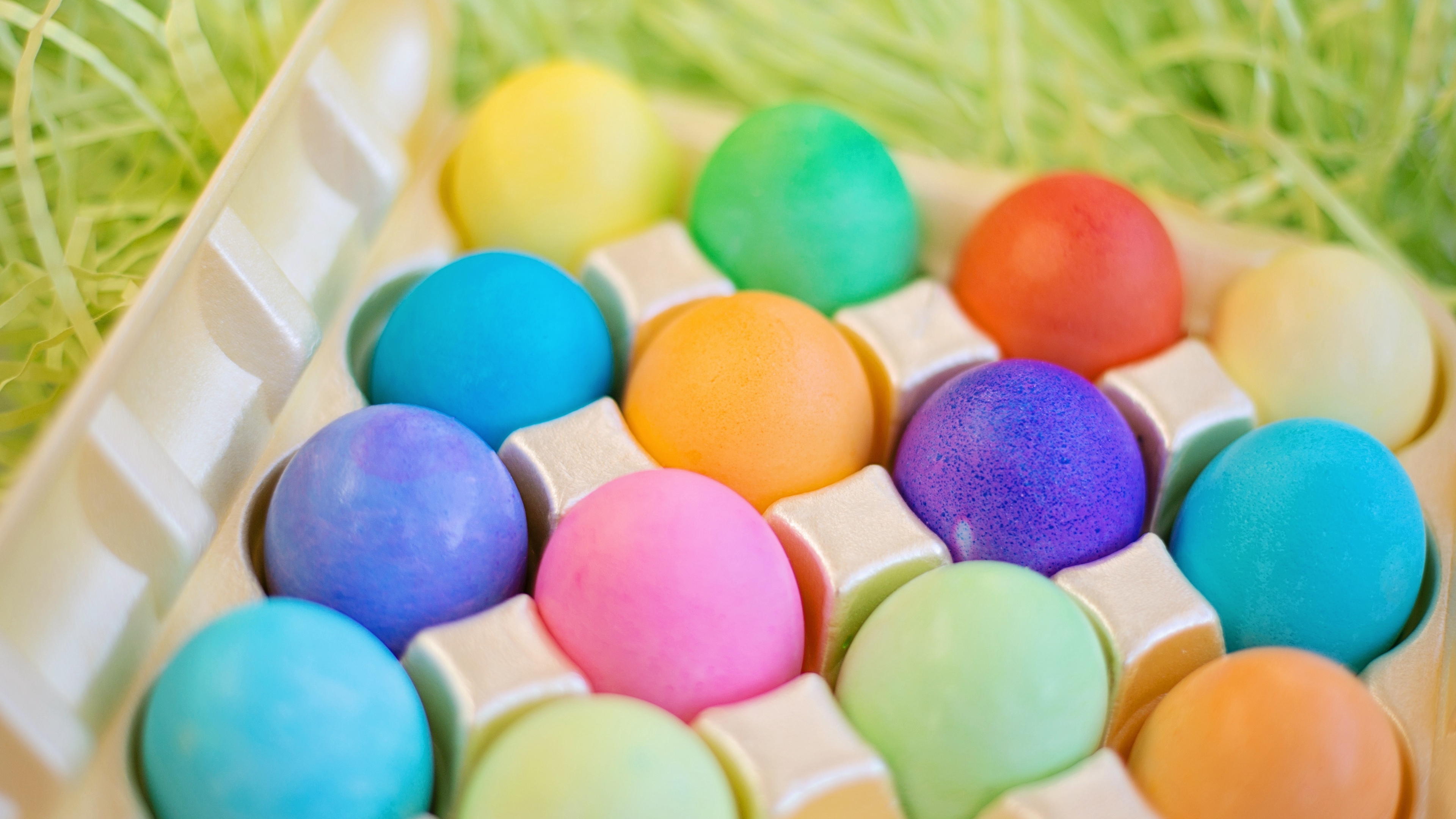 easter eggs colorful 4k 1538344667 - easter, eggs, colorful 4k - Eggs, Easter, Colorful
