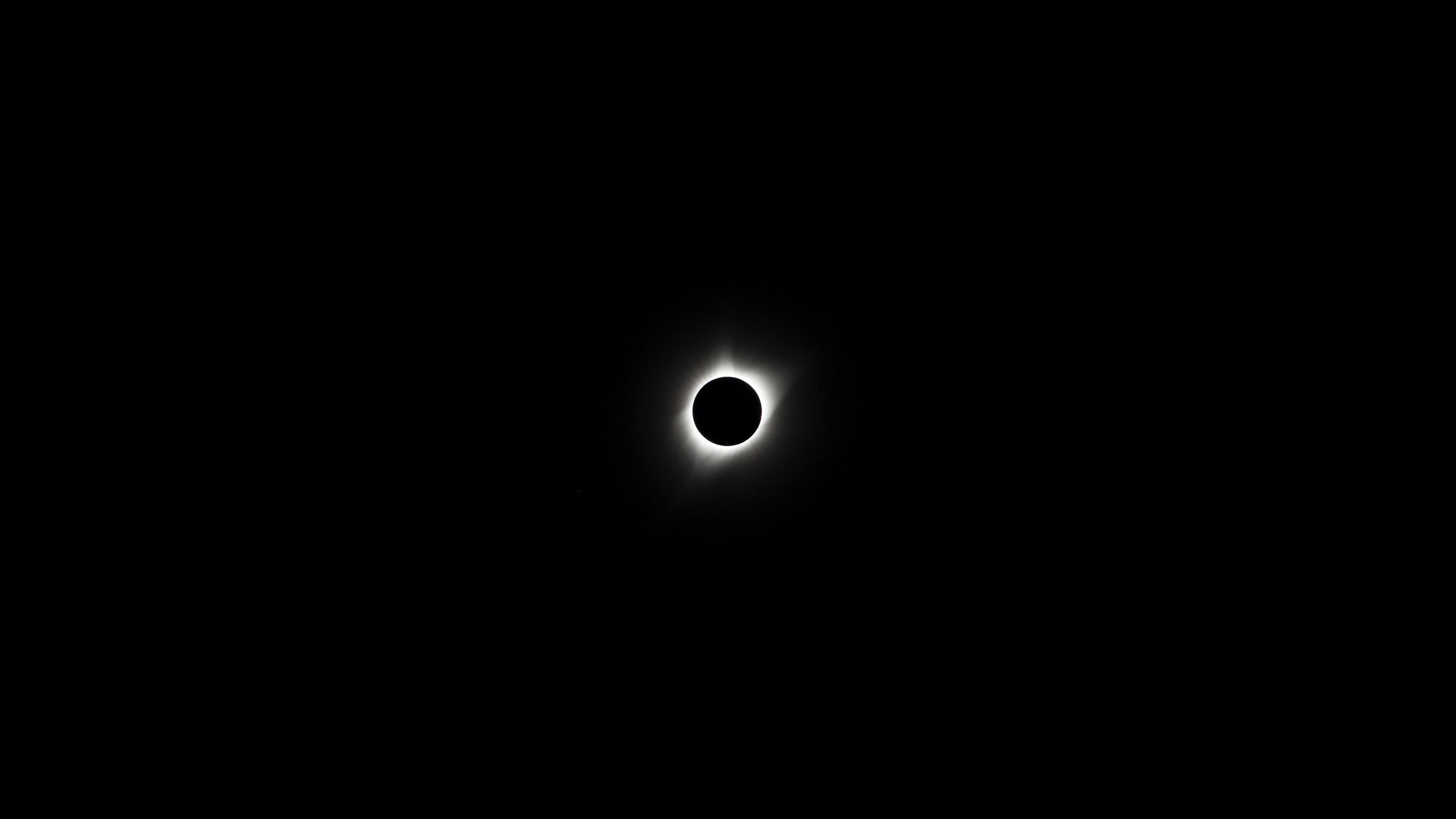eclipse moon dark background 4k 1536013786 - eclipse, moon, dark background 4k - Moon, Eclipse, dark background