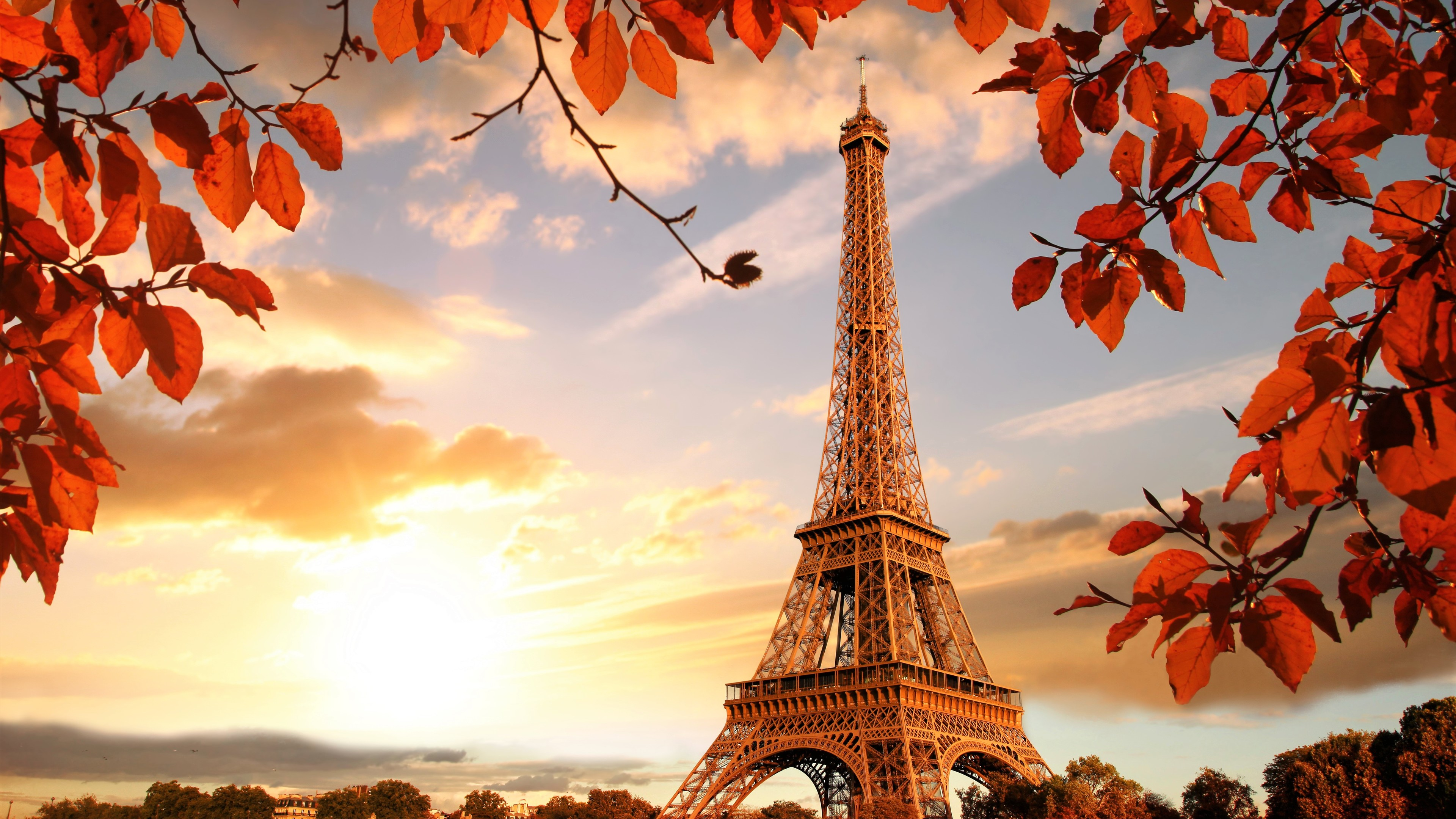eiffel tower autumn season 4k 5k 1538069328 - Eiffel Tower Autumn Season 4k 5k - world wallpapers, paris wallpapers, hd-wallpapers, france wallpapers, eiffel tower wallpapers, autumn wallpapers, 5k wallpapers, 4k-wallpapers