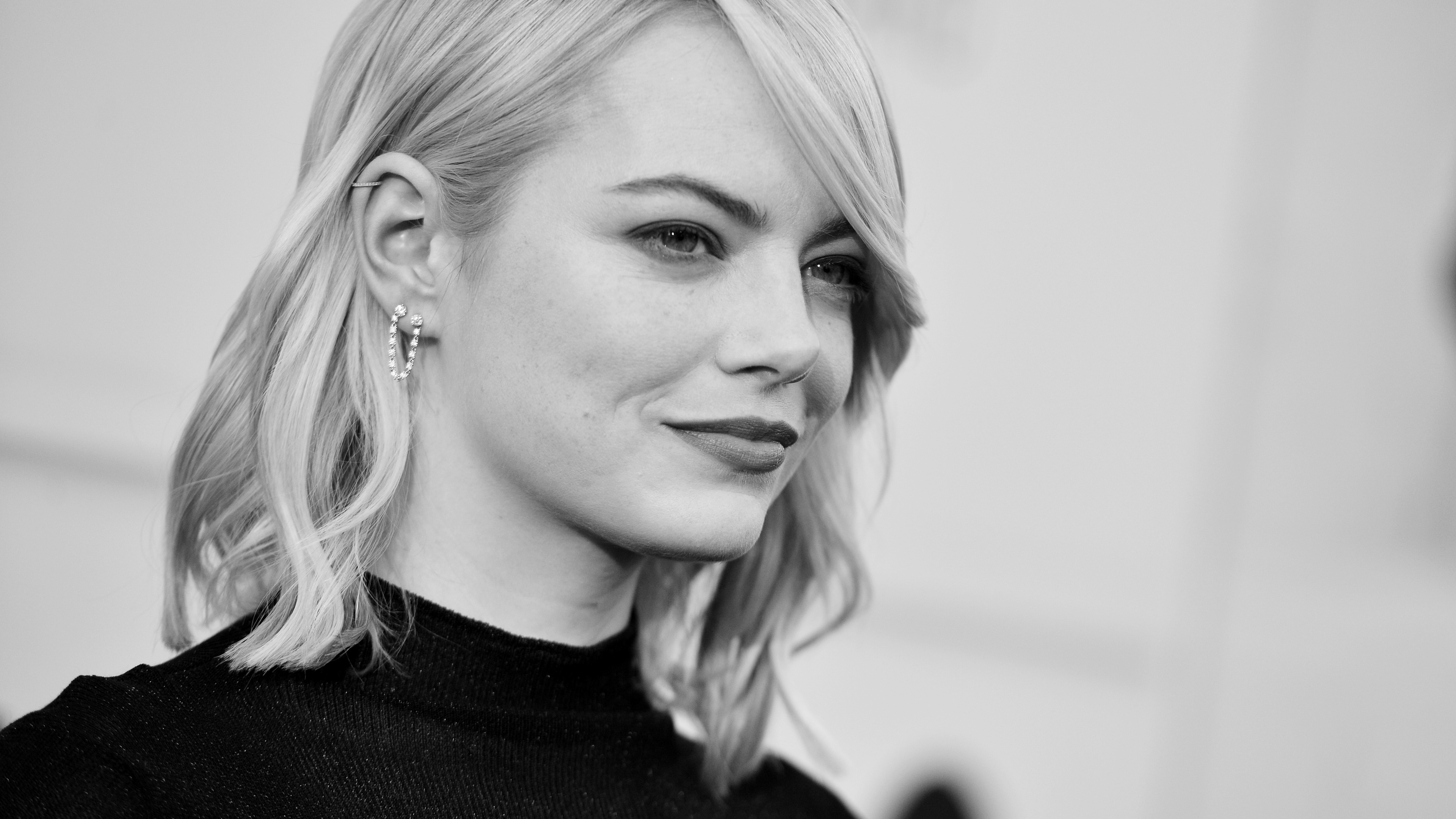 emma stone 2017 hd 1536859778 - Emma Stone 2017 HD - monochrome wallpapers, hd-wallpapers, girls wallpapers, emma stone wallpapers, celebrities wallpapers, black and white wallpapers, 5k wallpapers, 4k-wallpapers