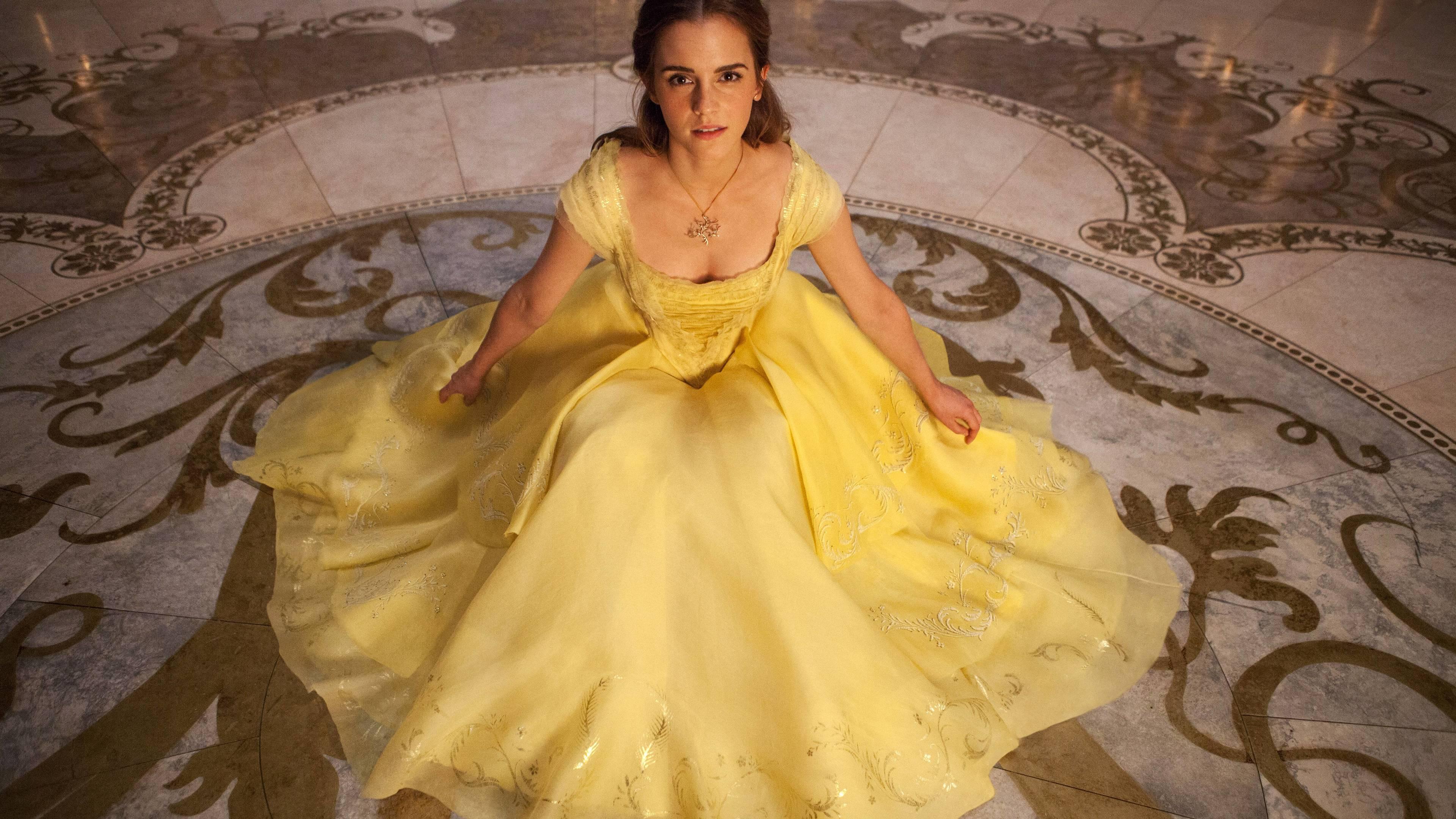 Wallpaper 4k Emma Watson In Beauty And The Beast 5k 2017 Movies