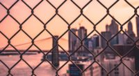 fence mesh city blur 4k 1538067067 200x110 - fence, mesh, city, blur 4k - mesh, fence, City