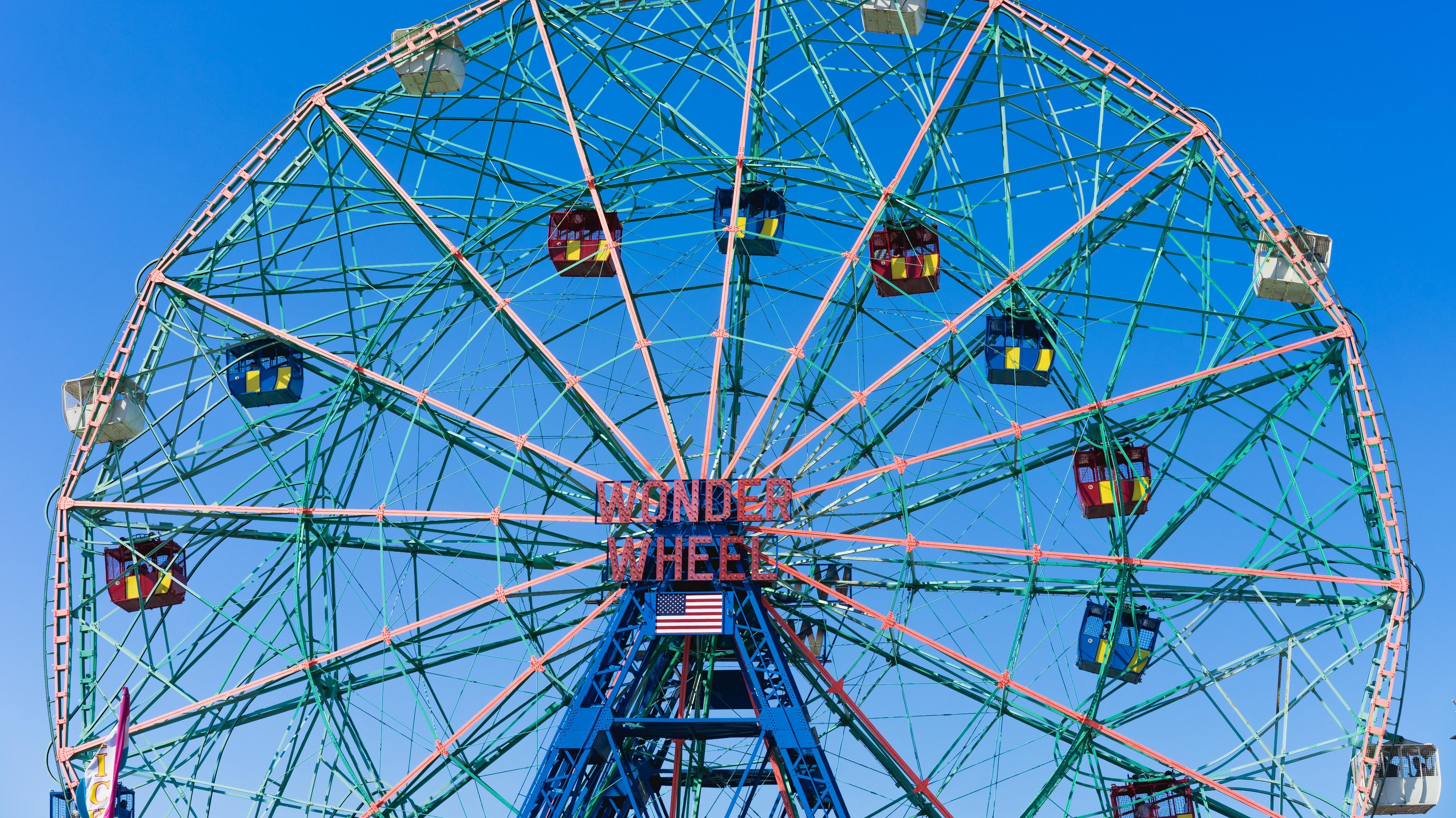 ferris wheel attraction city entertainment 4k 1538065043 - ferris wheel, attraction, city, entertainment 4k - ferris wheel, City, attraction