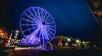 ferris wheel night backlight 4k 1538065377 200x110 - ferris wheel, night, backlight 4k - Night, ferris wheel, backlight