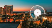 ferris wheel night city buildings 4k 1538066179 200x110 - ferris wheel, night, city, buildings 4k - Night, ferris wheel, City