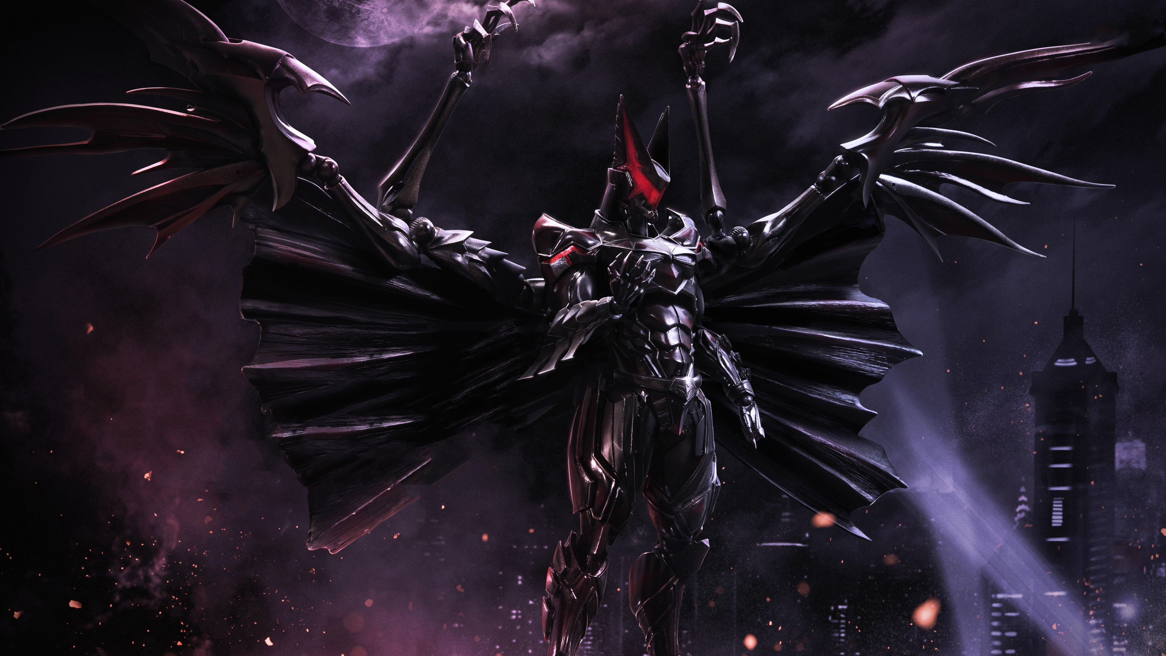 final fantasy inspired batman 5k 1536524118 - Final Fantasy Inspired Batman 5K - superheroes wallpapers, hd-wallpapers, batman wallpapers, 5k wallpapers, 4k-wallpapers