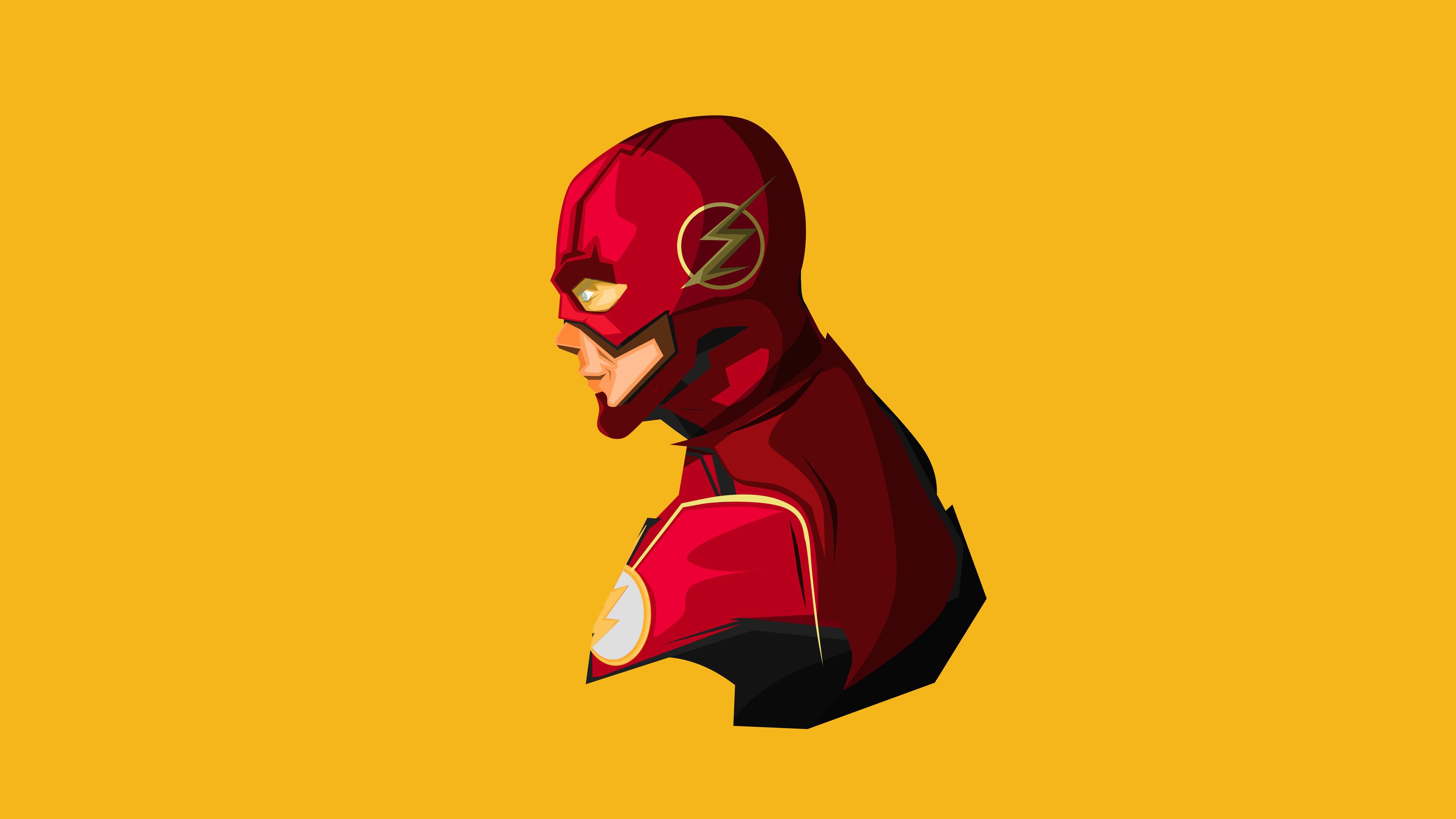 flash minimal 4k 1536523698 - Flash Minimal 4k - superheroes wallpapers, minimalism wallpapers, hd-wallpapers, flash wallpapers, digital art wallpapers, artwork wallpapers, artist wallpapers, 4k-wallpapers