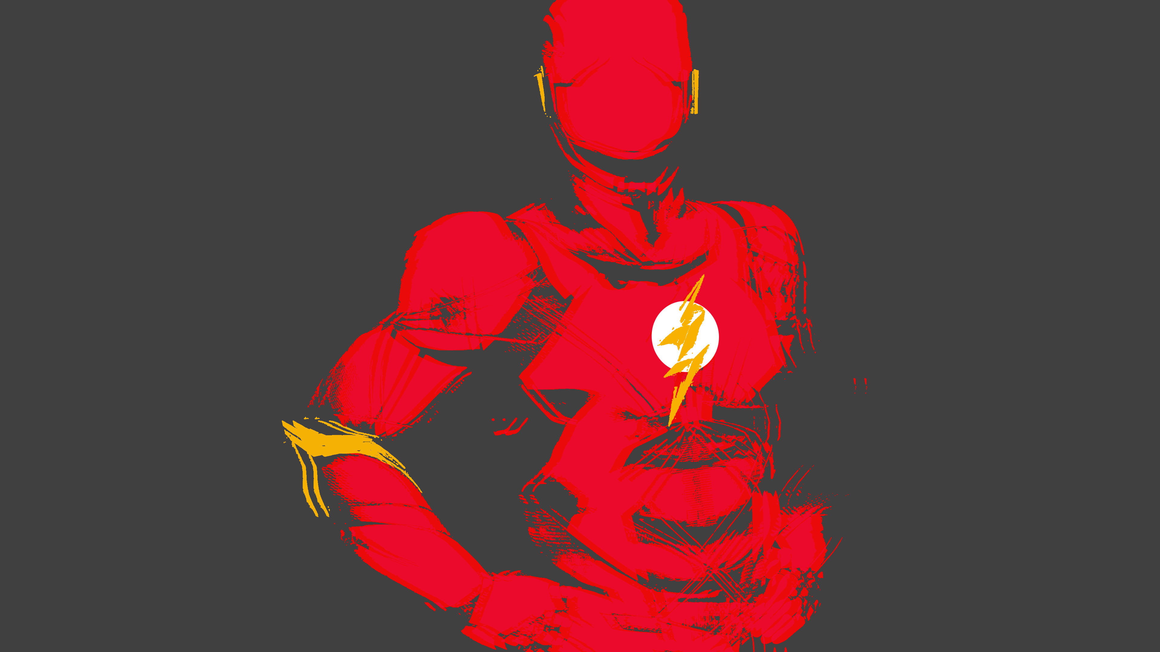 flash minimalist 1536507773 - Flash Minimalist - superheroes wallpapers, hd-wallpapers, flash wallpapers, digital art wallpapers, artwork wallpapers, artist wallpapers, 4k-wallpapers