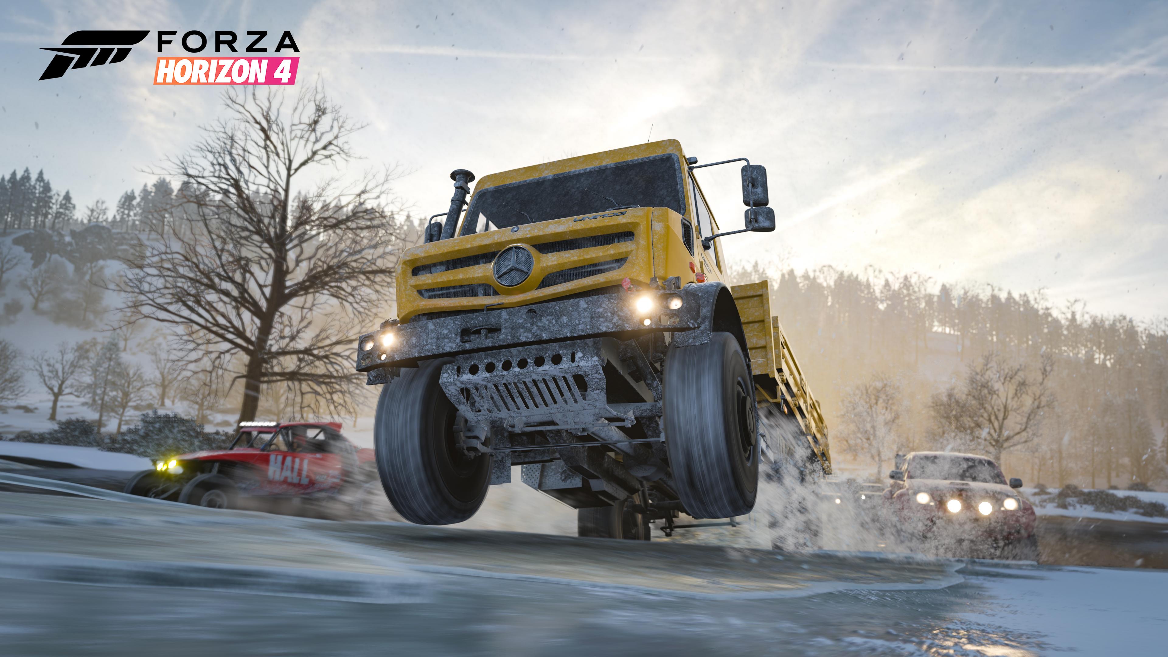 forza horizon 4 mercedes benz truck 1538343590 - Forza Horizon 4 Mercedes Benz Truck - mercedes benz wallpapers, hd-wallpapers, games wallpapers, forza wallpapers, forza horizon 4 wallpapers, 4k-wallpapers, 2018 games wallpapers