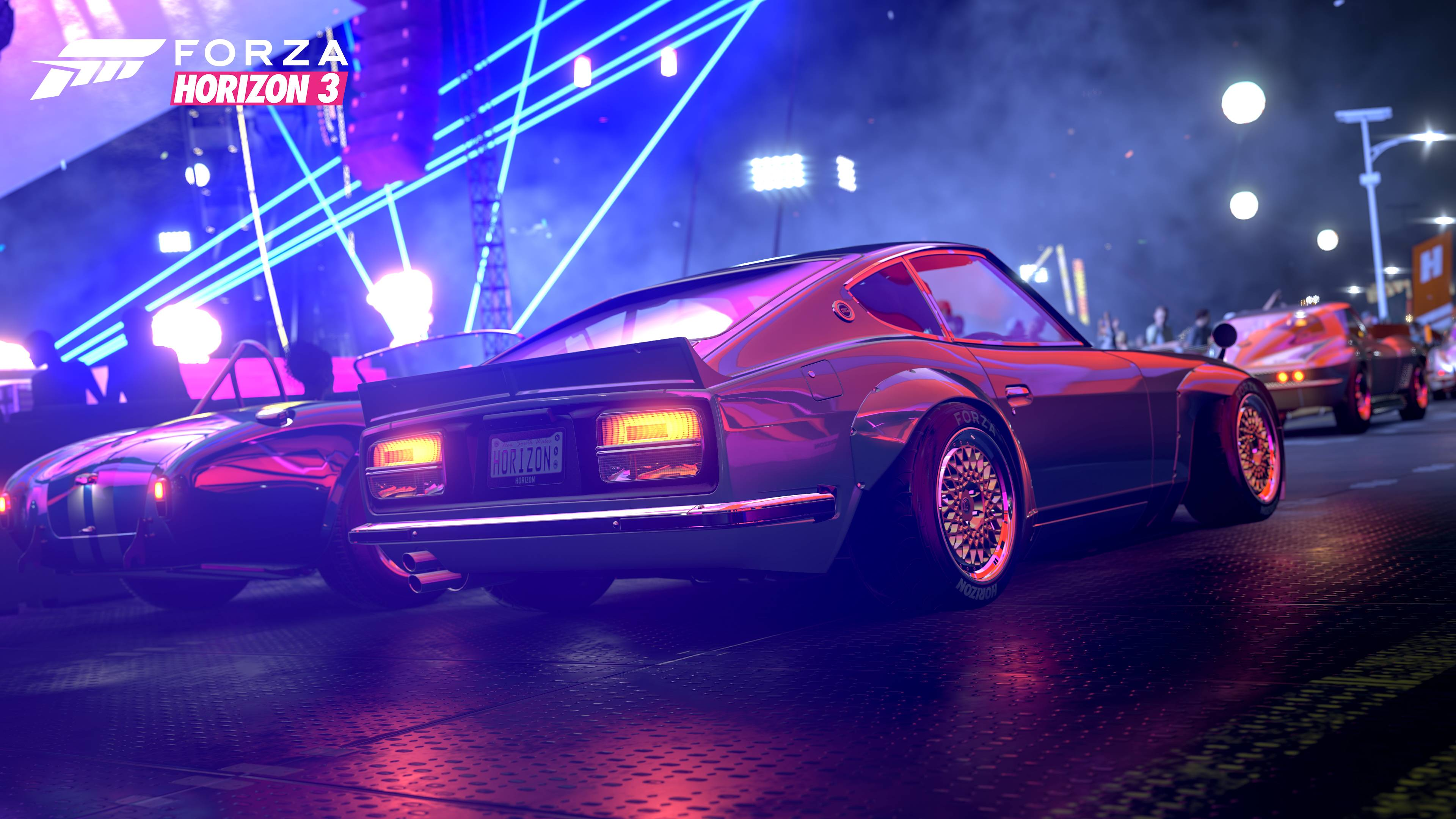 forza horizon ford mustang colorful lights 4k 1537691023 - Forza Horizon Ford Mustang Colorful Lights 4k - hd-wallpapers, games wallpapers, forza wallpapers, forza horizon 3 wallpapers, ford mustang wallpapers, 4k-wallpapers, 2018 games wallpapers