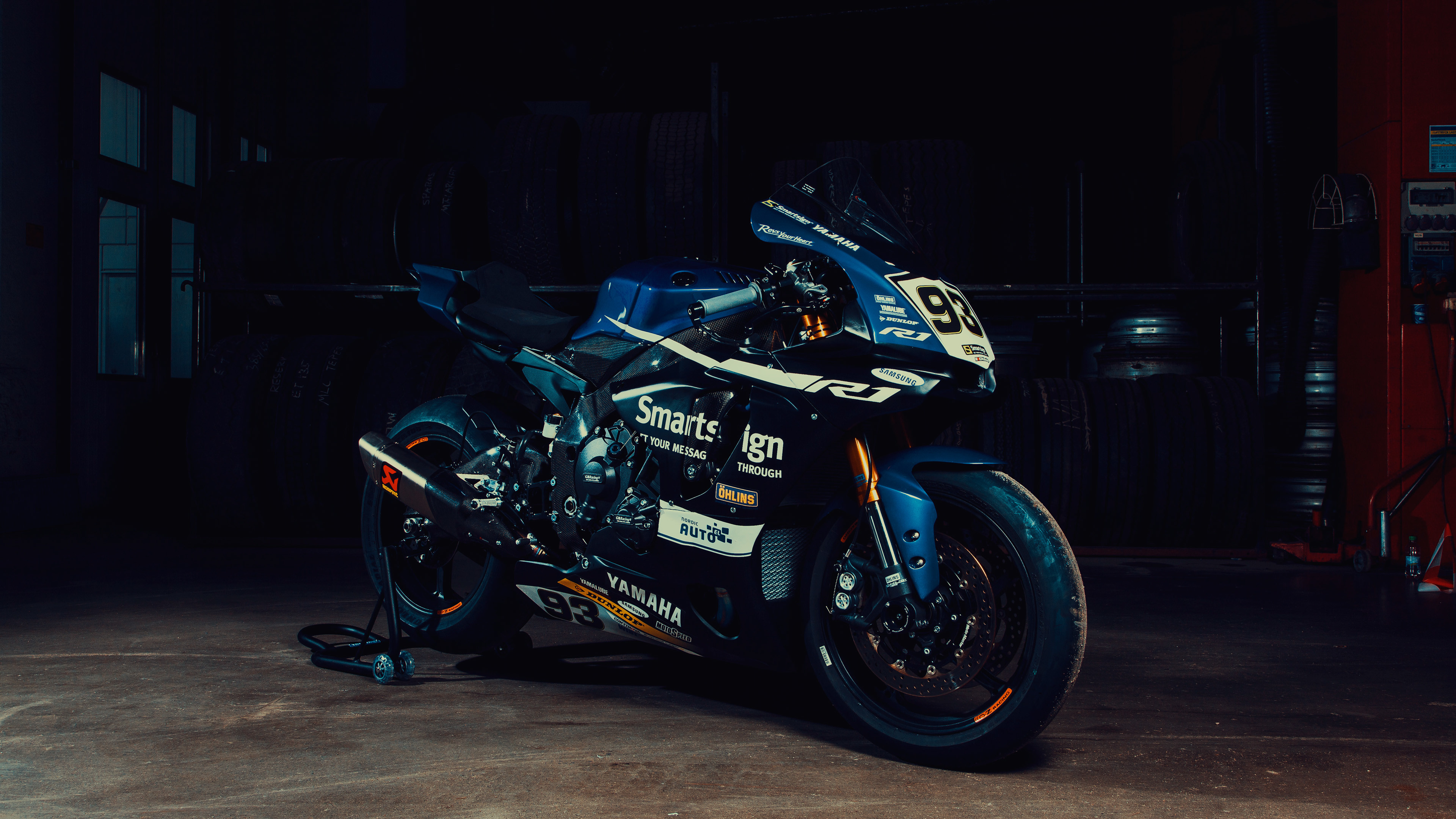 fredrik ericsson yamaha r1 front view 1536316623 - Fredrik Ericsson Yamaha R1 Front View - yamaha wallpapers, yamaha r1 wallpapers, hd-wallpapers, bikes wallpapers, behance wallpapers, artist wallpapers, 4k-wallpapers, 2018 bikes wallpapers