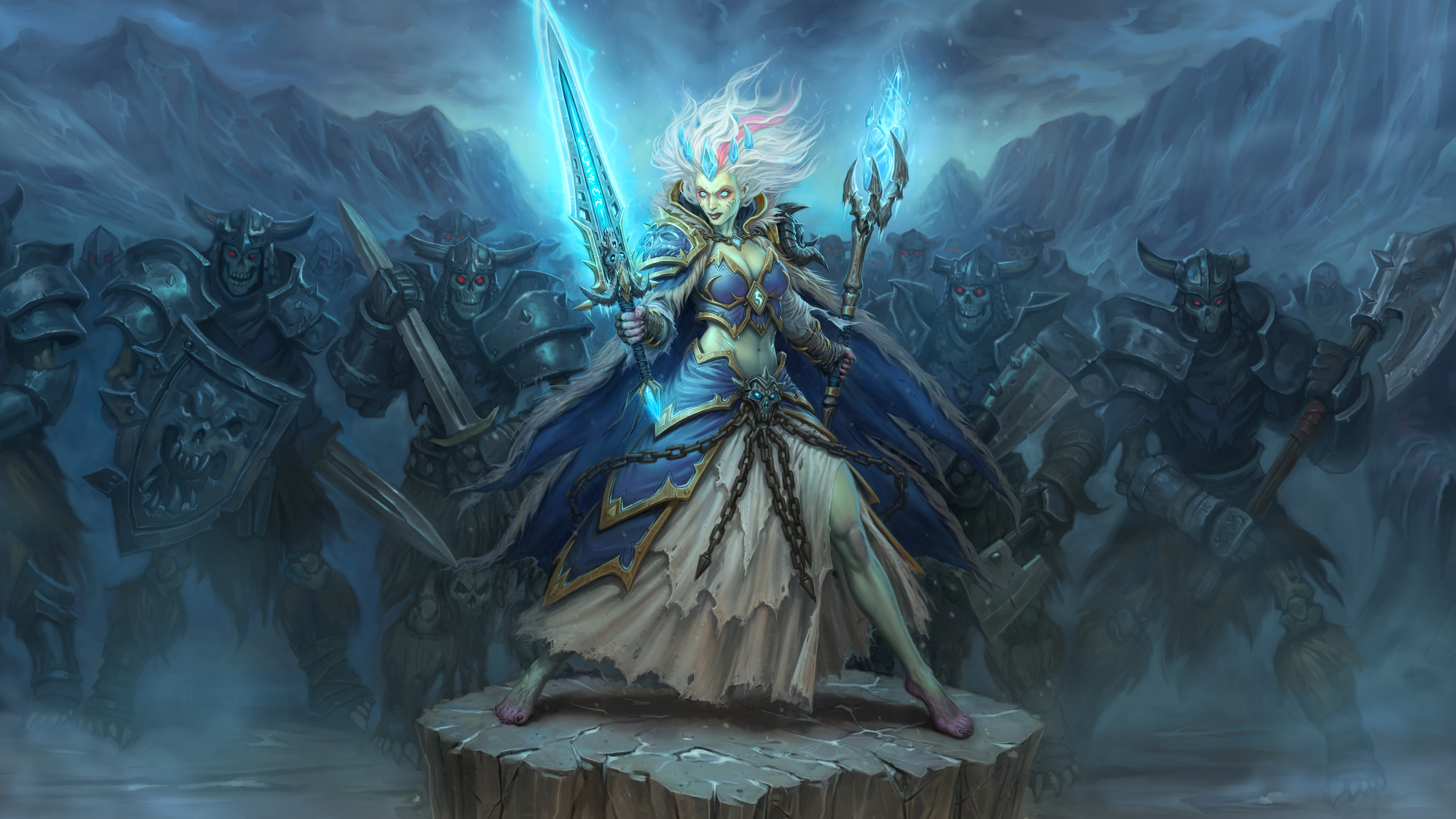 frost lich jaina hearthstone 2018 1538344000 - Frost Lich Jaina Hearthstone 2018 - hearthstone wallpapers, hd-wallpapers, games wallpapers, 5k wallpapers, 4k-wallpapers