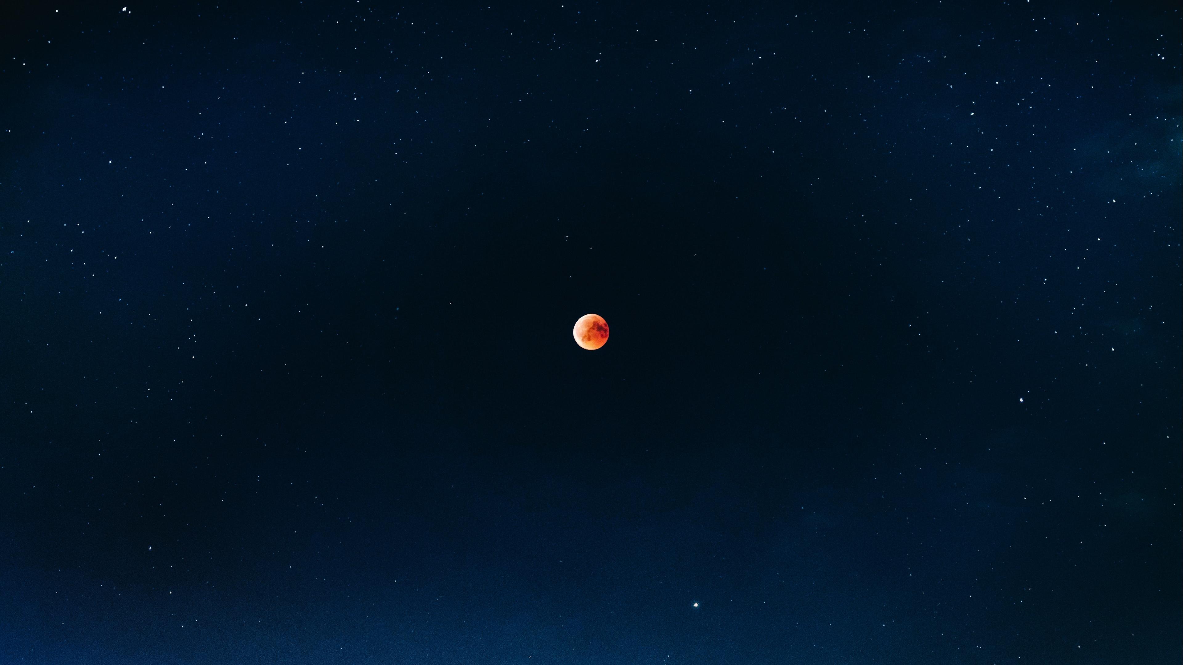 full moon red moon eclipse fiery moon 4k 1536013907 - full moon, red moon, eclipse, fiery moon 4k - red moon, full moon, Eclipse