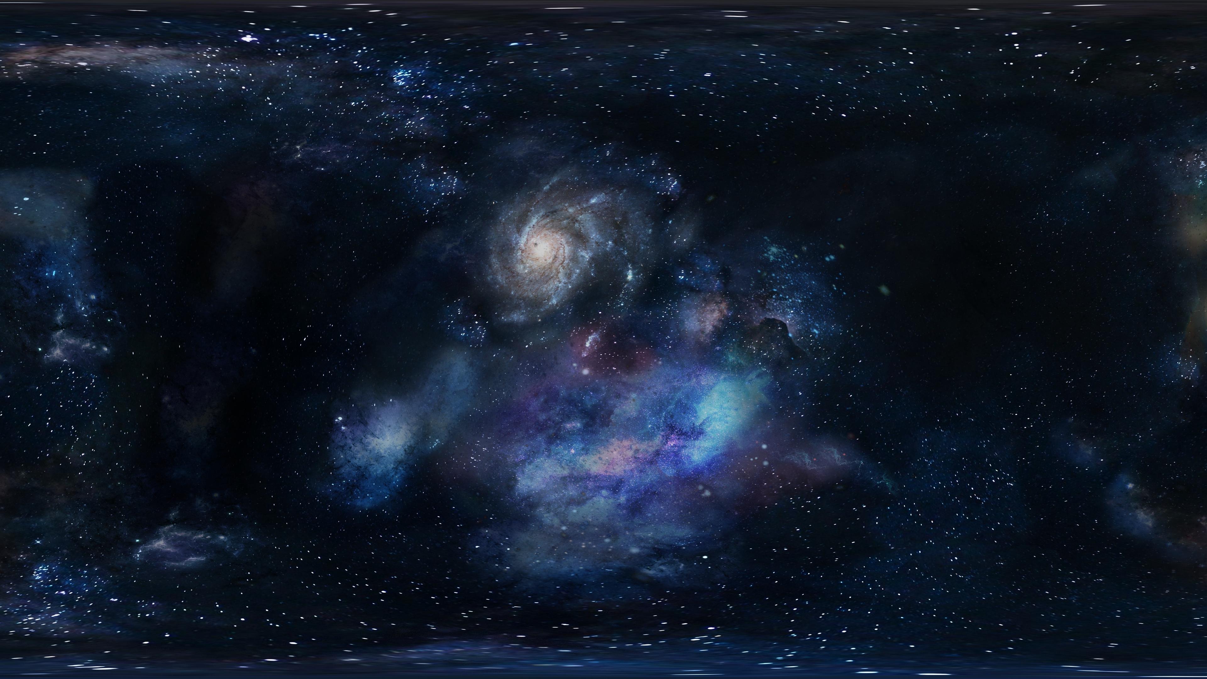 galaxy space stars 4k 1536016643 - galaxy, space, stars 4k - Stars, Space, Galaxy