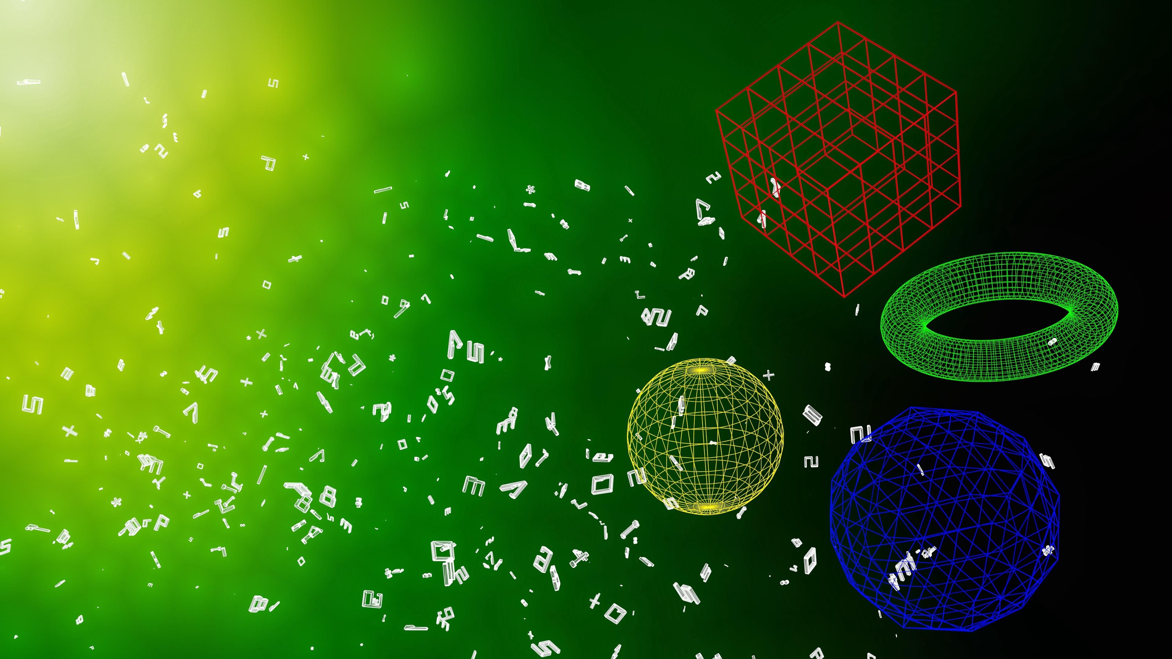 geometric shapes shapes letters 4k 1536854931 - geometric shapes, shapes, letters 4k - Shapes, Letters, geometric shapes