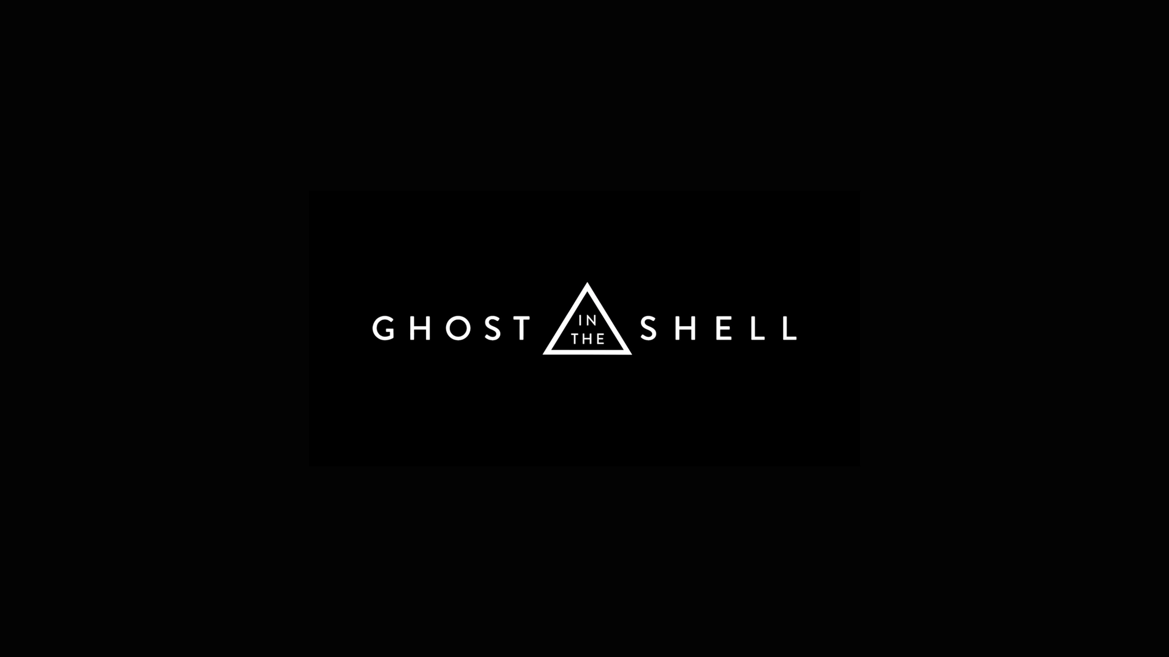 Wallpaper 4k Ghost In The Shell Movie Logo 2017 Movies Wallpapers