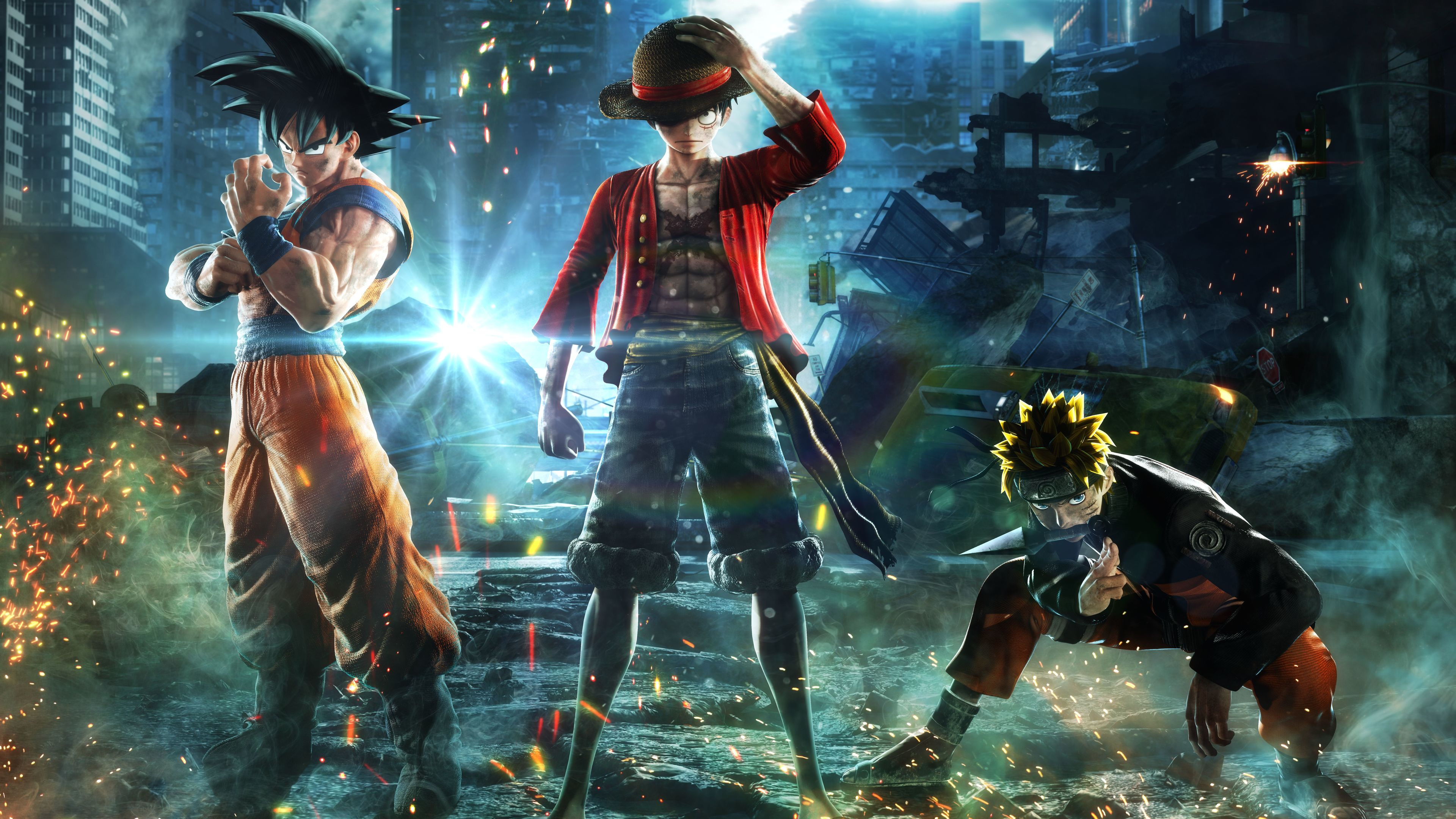 goku monkey d luffy naruto jump force 8k 1537690178 - Goku Monkey D Luffy Naruto Jump Force 8k - naruto wallpapers, monkey d luffy wallpapers, jump force wallpapers, hd-wallpapers, goku wallpapers, games wallpapers, 8k wallpapers, 5k wallpapers, 4k-wallpapers