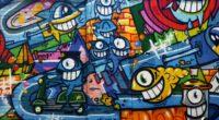graffiti art bright wall 4k 1536098417 200x110 - graffiti, art, bright, wall 4k - graffiti, Bright, art