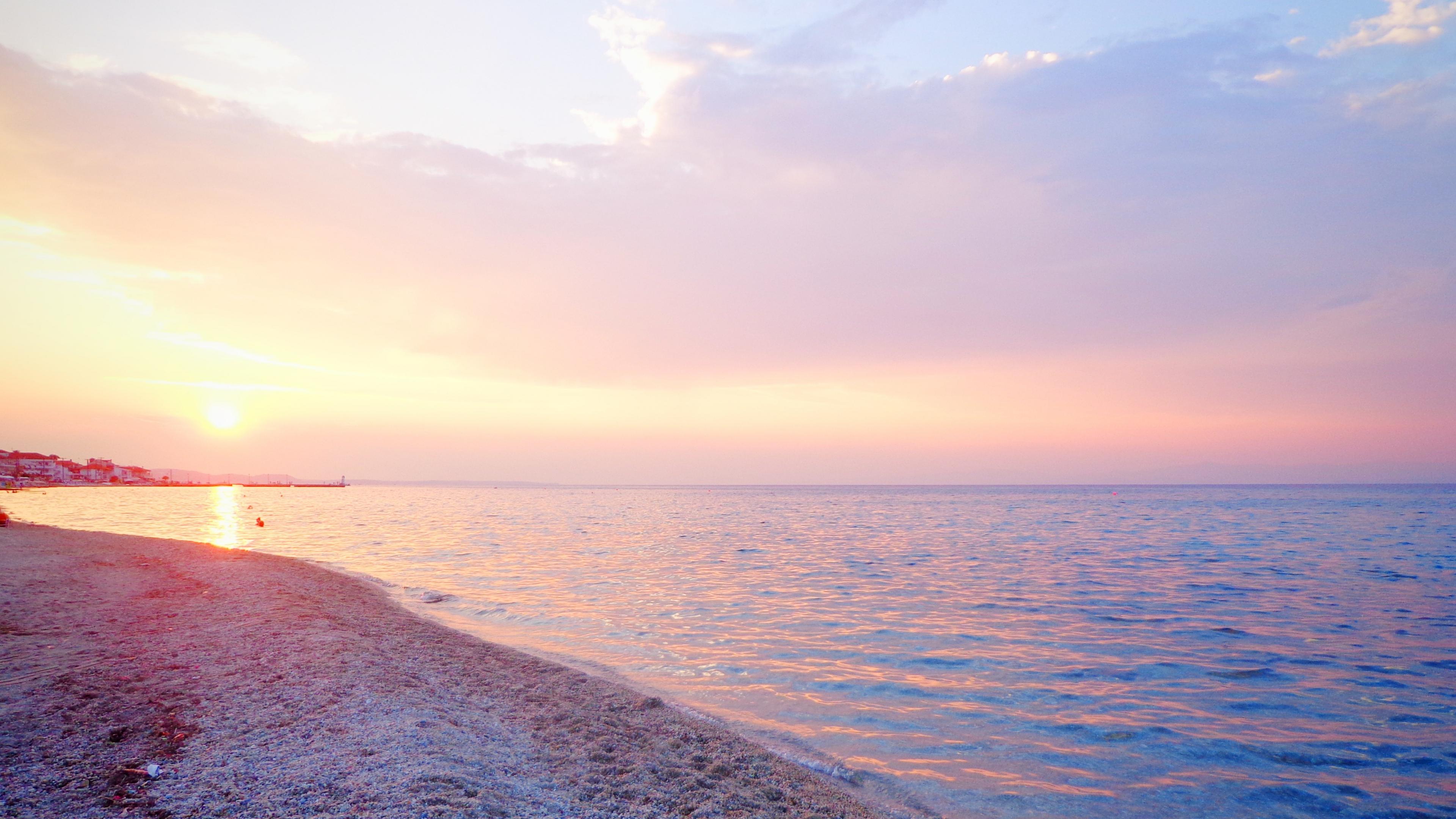 greece sea beach sunset 1535923878 - Greece Sea Beach Sunset - sunset wallpapers, sea wallpapers, nature wallpapers, beach wallpapers