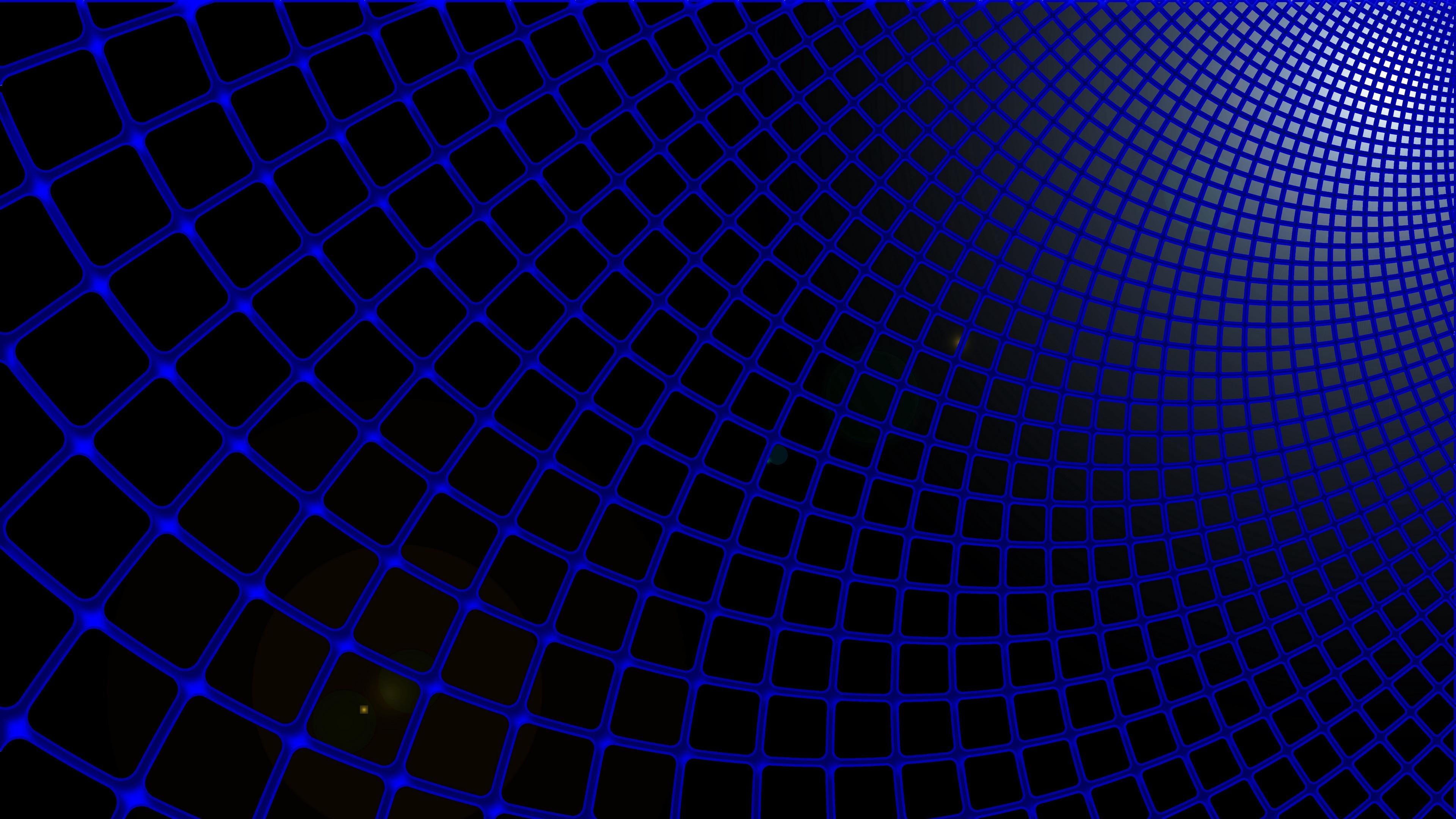 grid blue black futuristic 4k 1536097857 - grid, blue, black, futuristic 4k - Grid, blue, Black