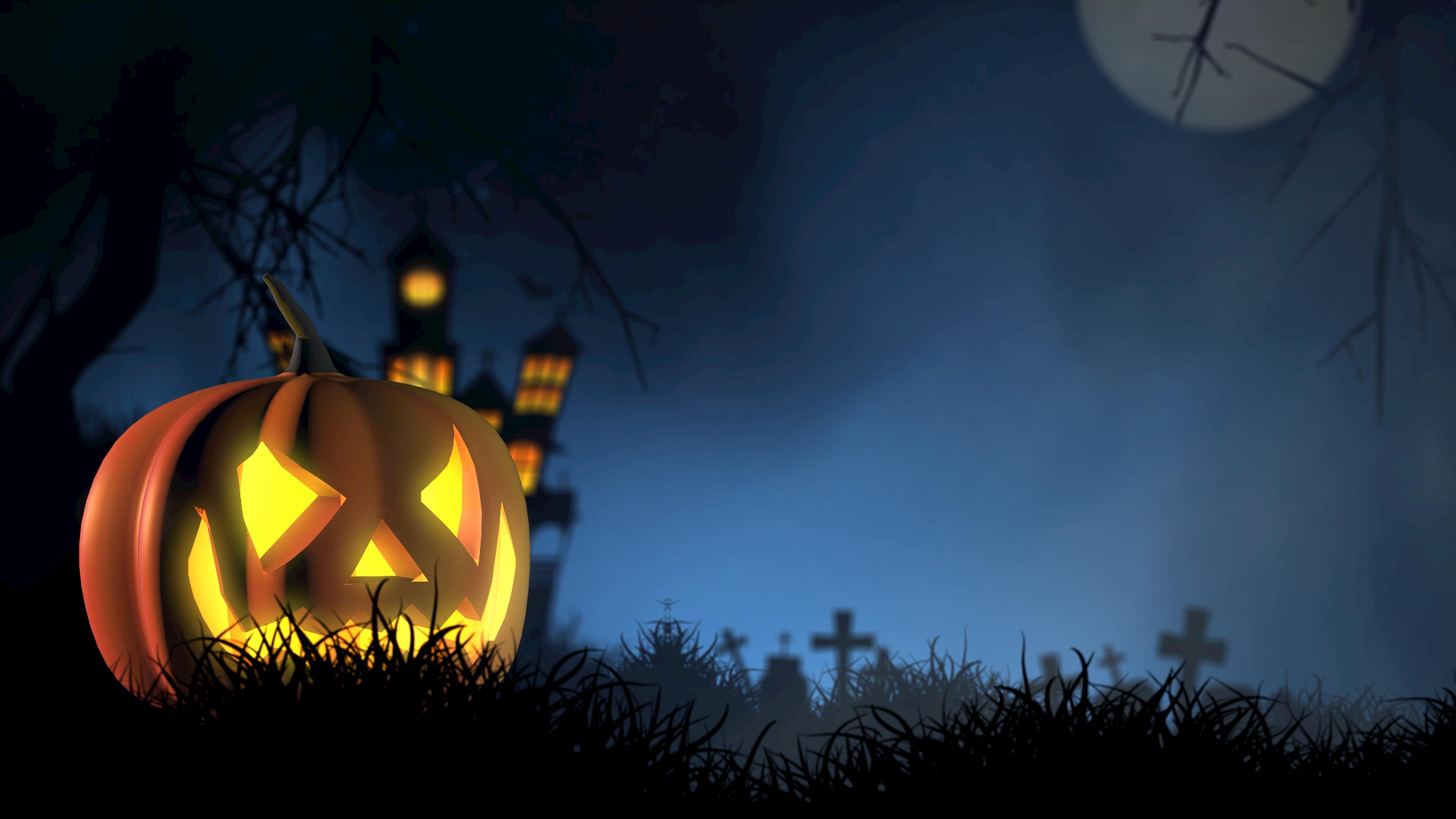 halloween pumpkin spooky face autumn 4k 1538344469 - halloween, pumpkin, spooky, face, autumn 4k - spooky, pumpkin, halloween