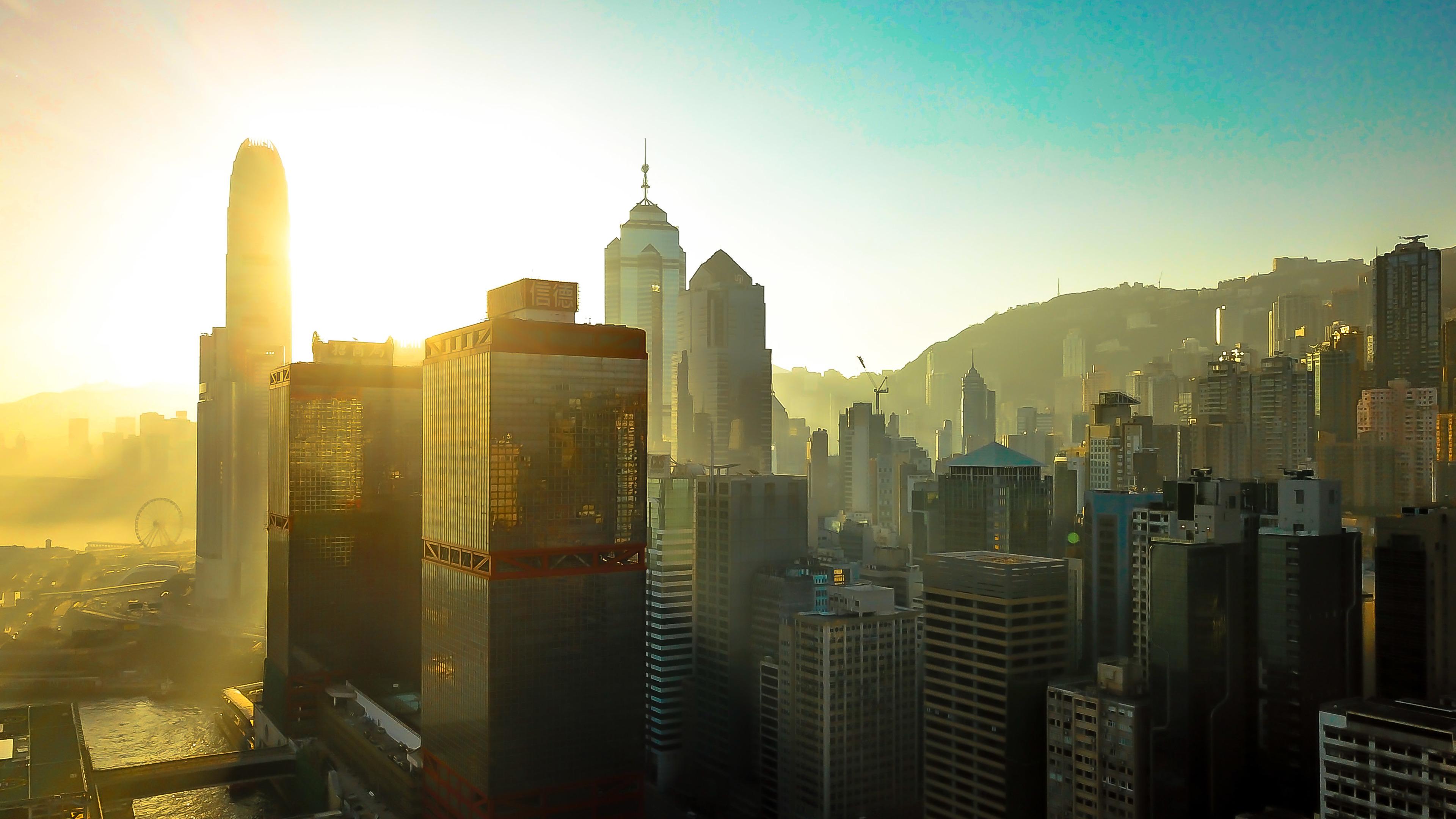 hongkong buildings skycrapper city 4k 1538069530 - Hongkong Buildings Skycrapper City 4k - world wallpapers, skycrapper wallpapers, hong kong wallpapers, hd-wallpapers, city wallpapers, buildings wallpapers, 4k-wallpapers