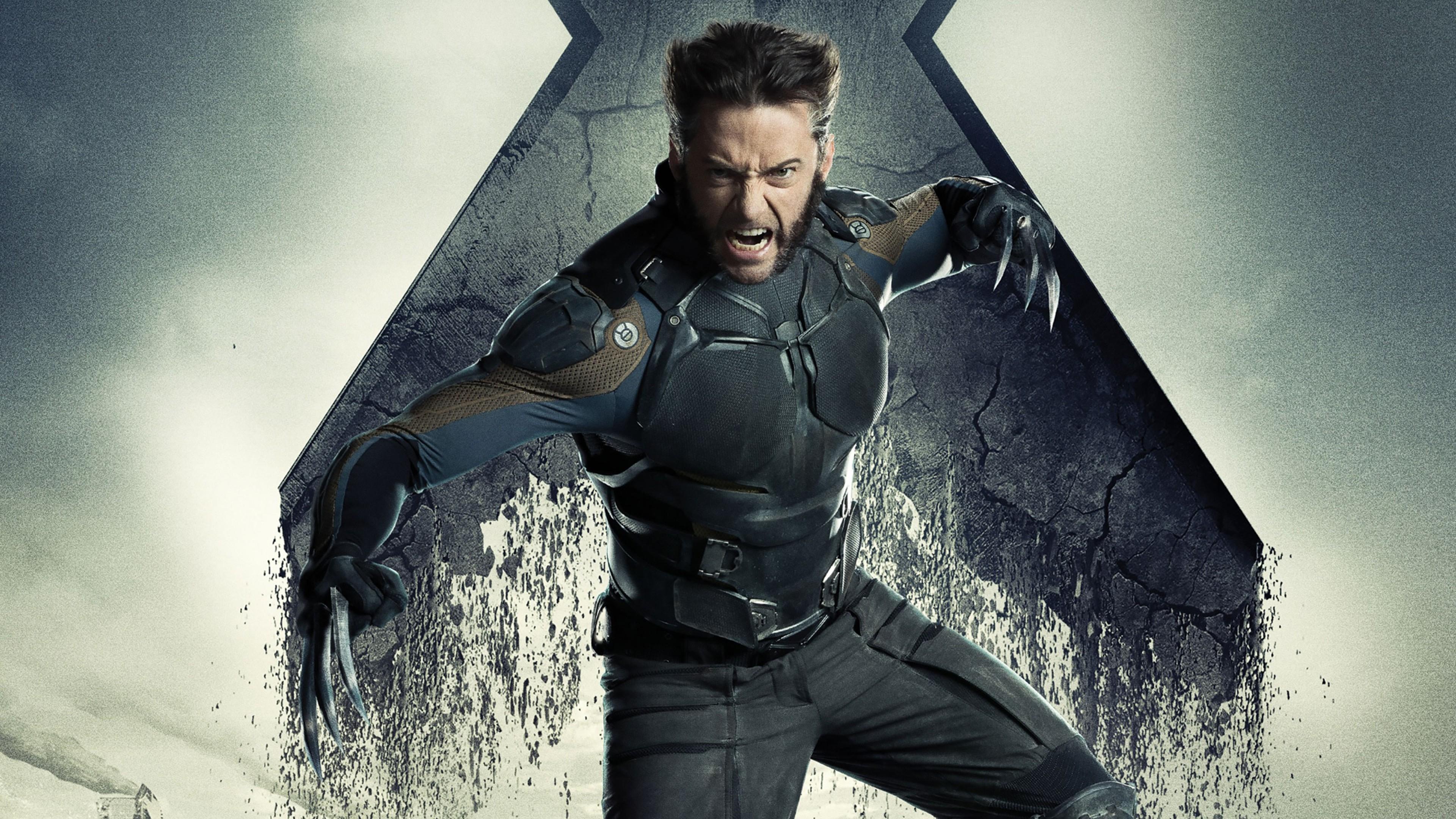 Wallpaper 4k Hugh Jackman X Men Days Of Future Past Movies