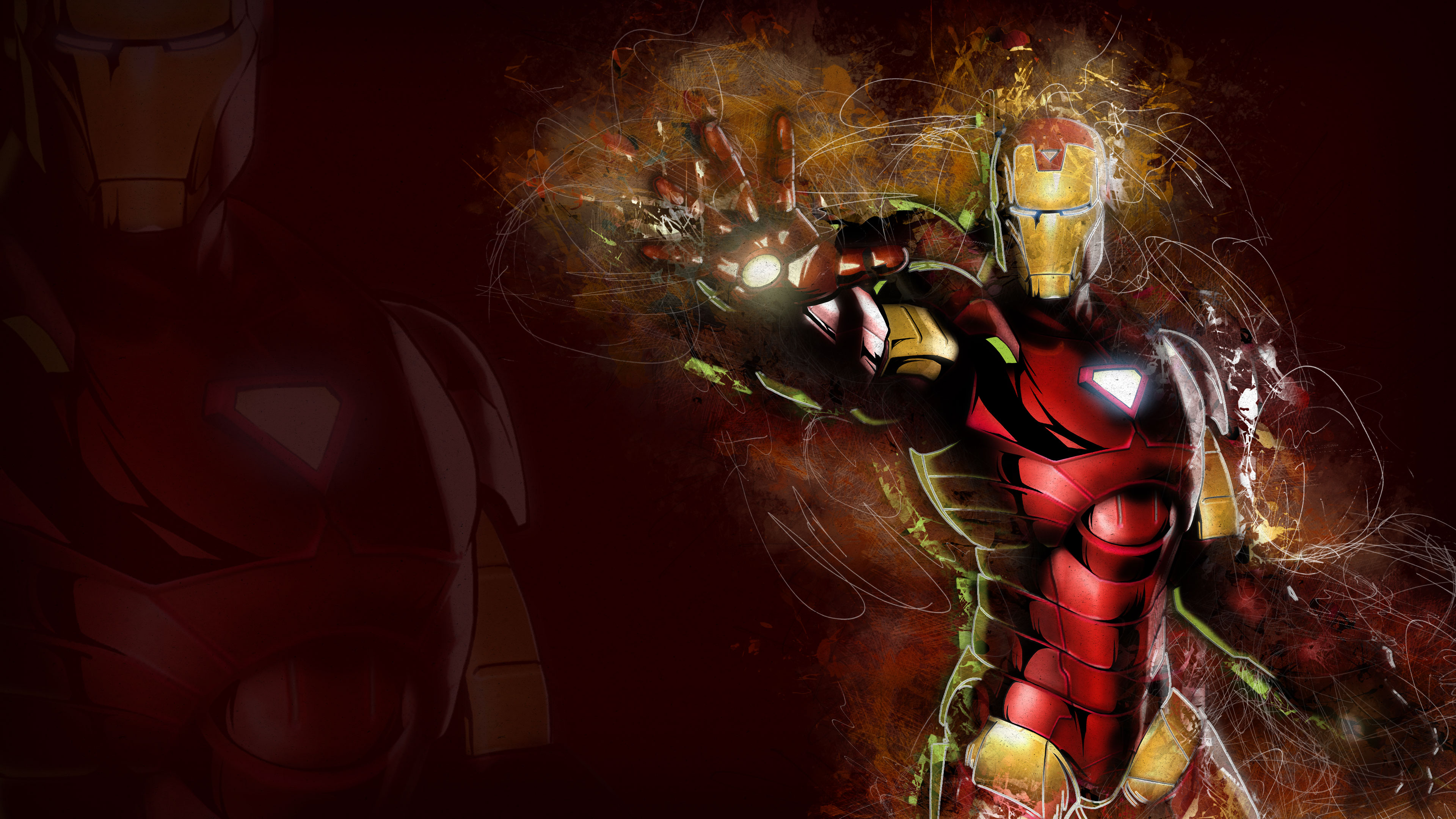 iron man art 4k 1536521843 - Iron Man Art 4k - superheroes wallpapers, iron man wallpapers, hd-wallpapers, digital art wallpapers, artwork wallpapers, art wallpapers, 4k-wallpapers