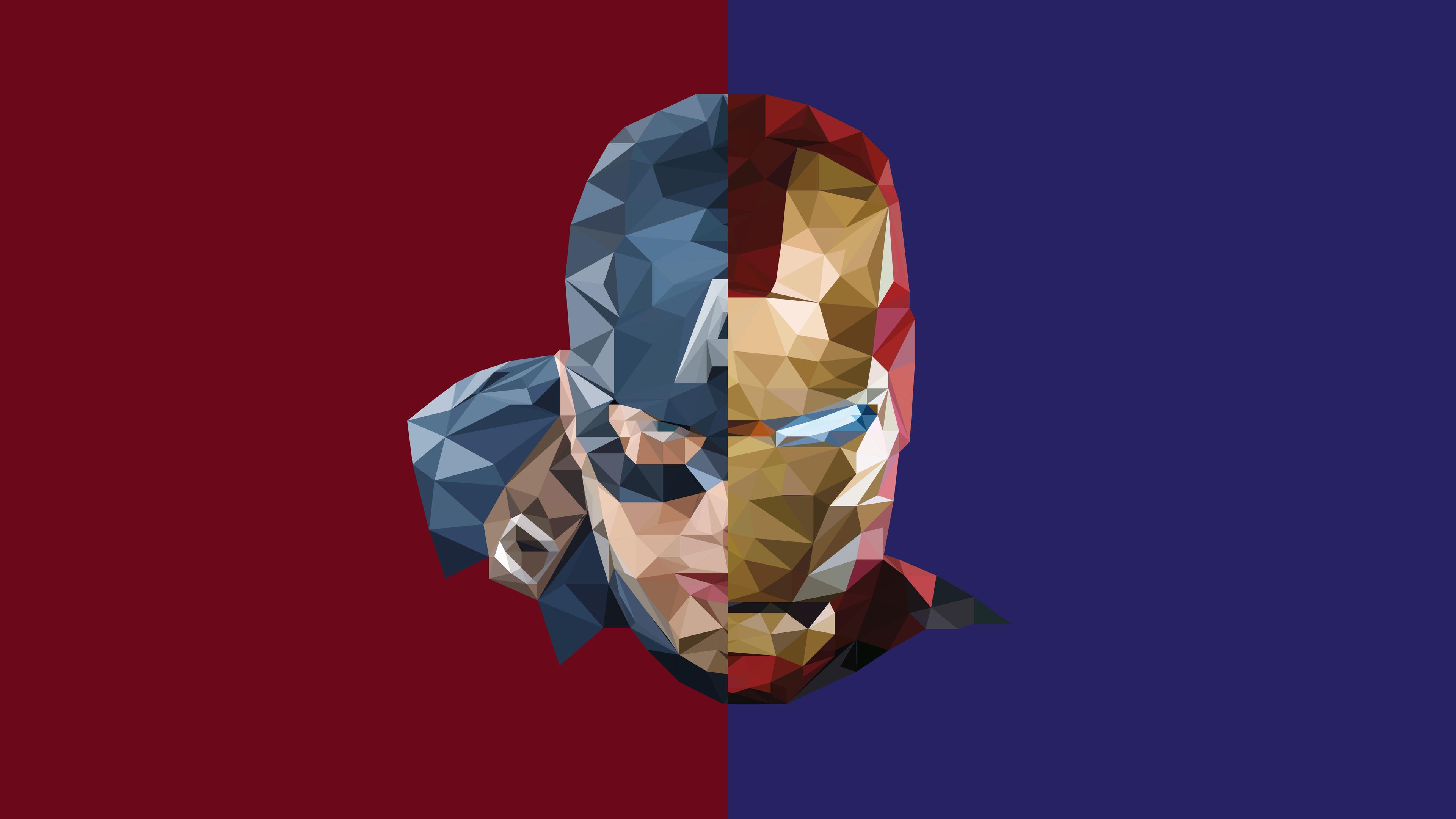 iron man captain america abstract 1536522567 - Iron Man Captain America Abstract - iron man wallpapers, hd-wallpapers, captain america wallpapers, artwork wallpapers, artist wallpapers, abstract wallpapers, 8k wallpapers, 5k wallpapers, 4k-wallpapers