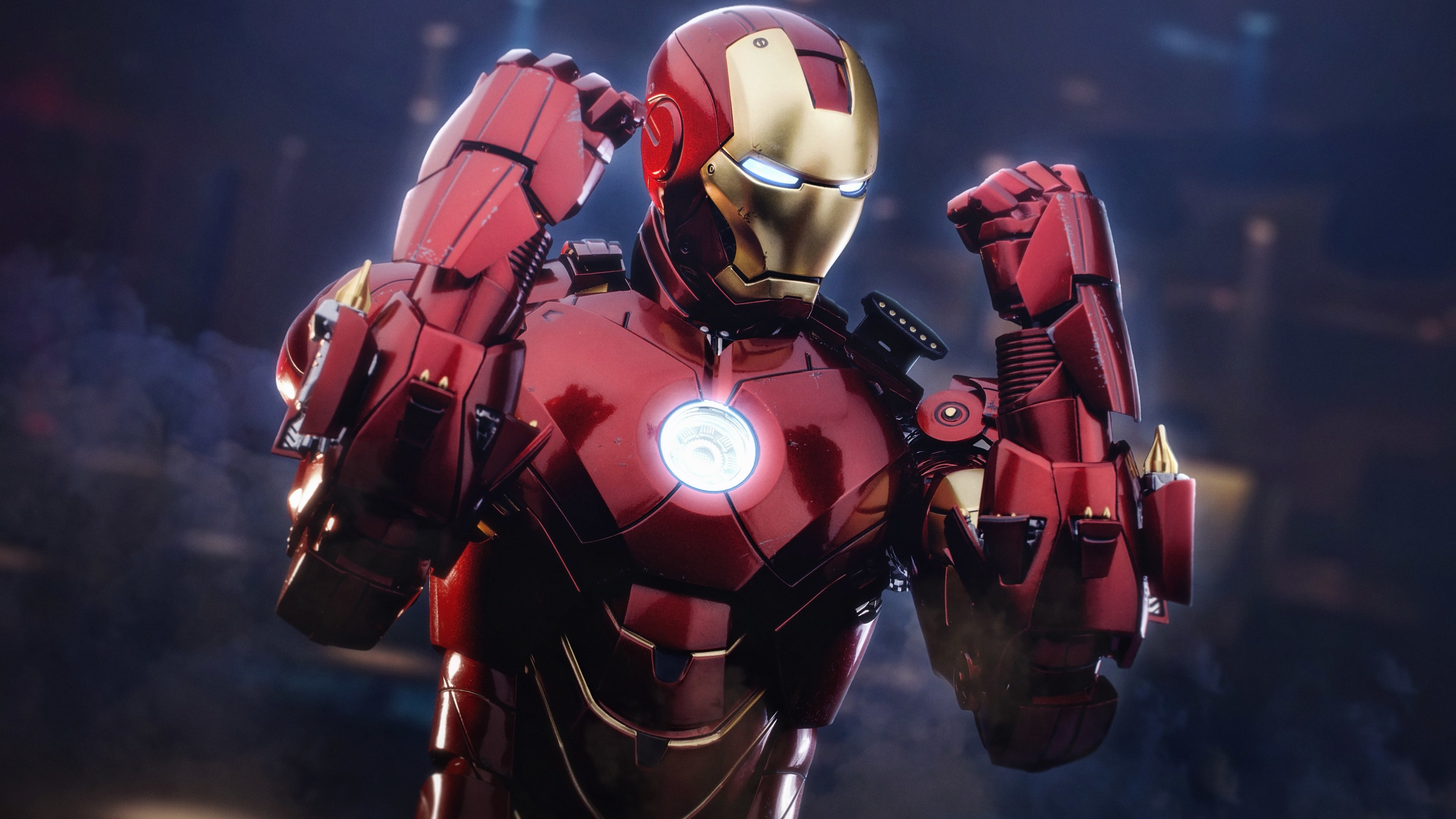Wallpaper 4k Iron Man Mark 4 Suit 5k 4k Wallpapers 5k Wallpapers