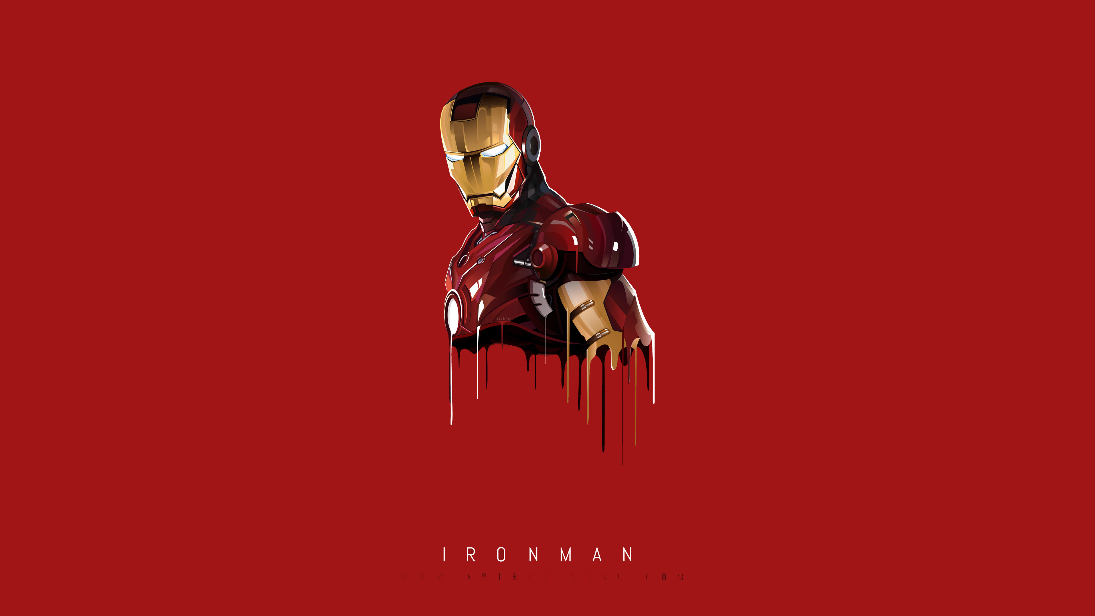 iron man minimal 1536522657 - Iron Man Minimal - superheroes wallpapers, minimalism wallpapers, iron man wallpapers, hd-wallpapers, digital art wallpapers, behance wallpapers, artwork wallpapers, artist wallpapers, 4k-wallpapers