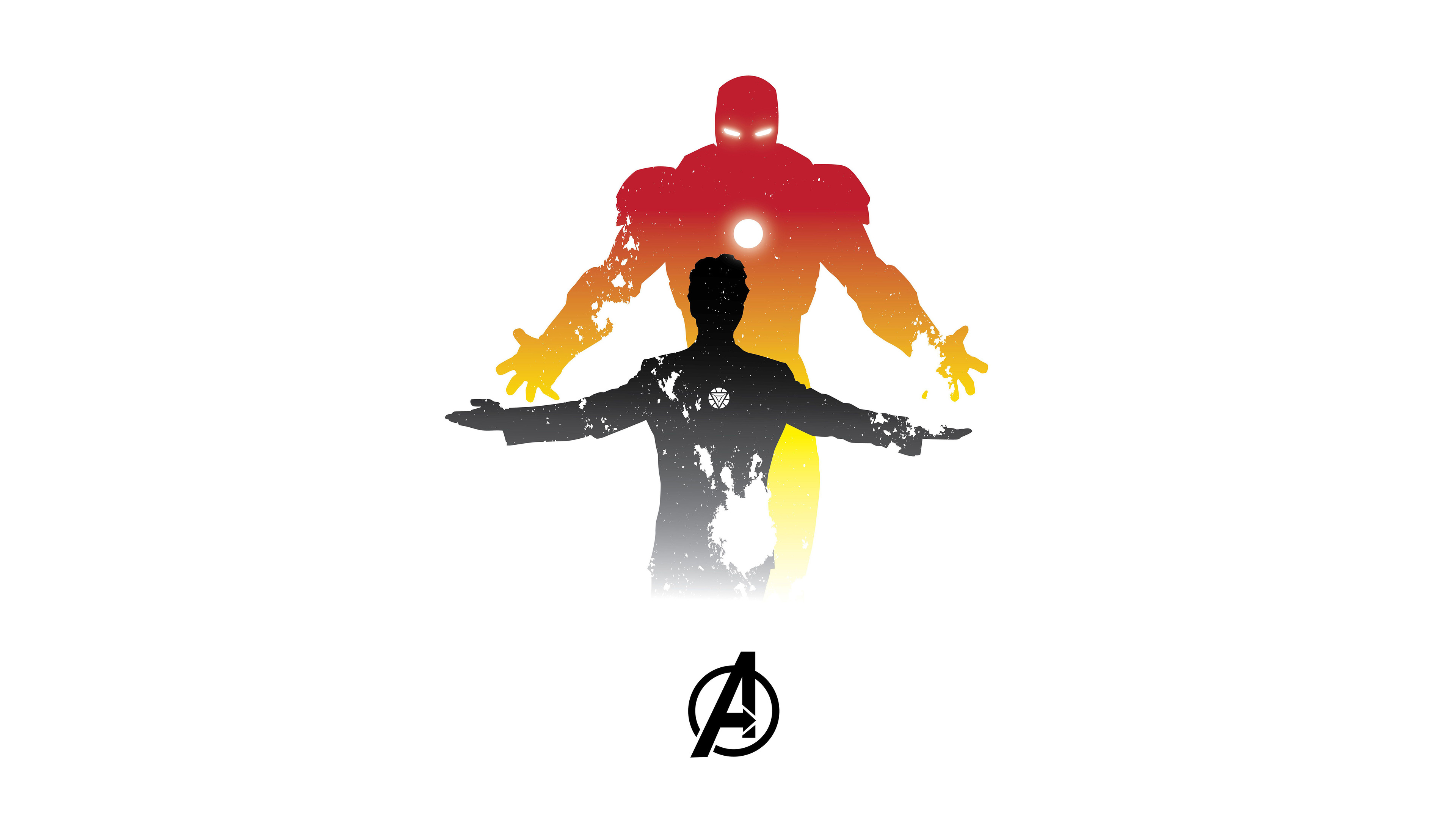 Wallpaper 4k Iron Man Minimalism 5k 4k Wallpapers 5k Wallpapers